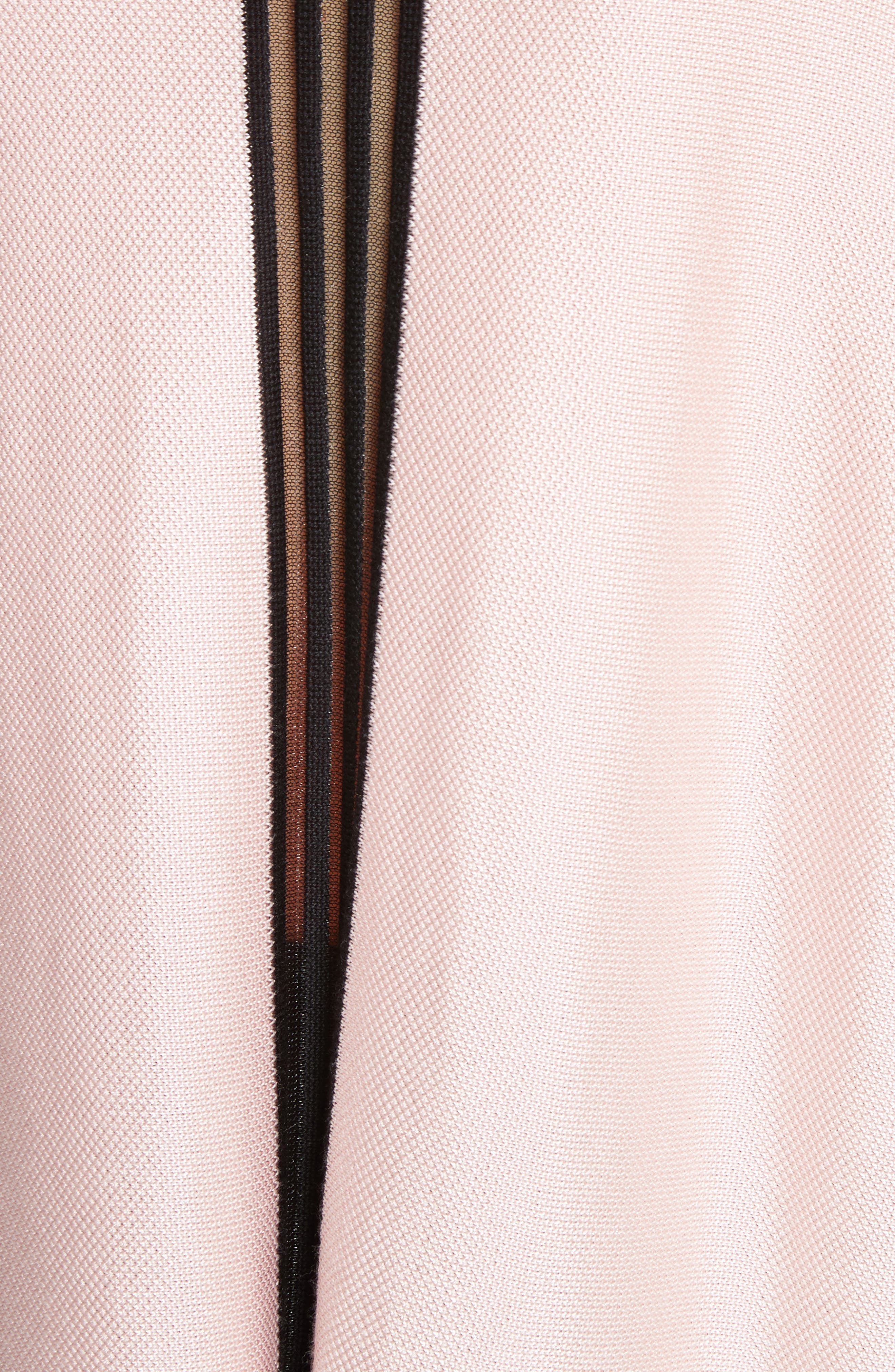 Birdseye Knit Funnel Neck Sweater,                             Alternate thumbnail 5, color,                             680