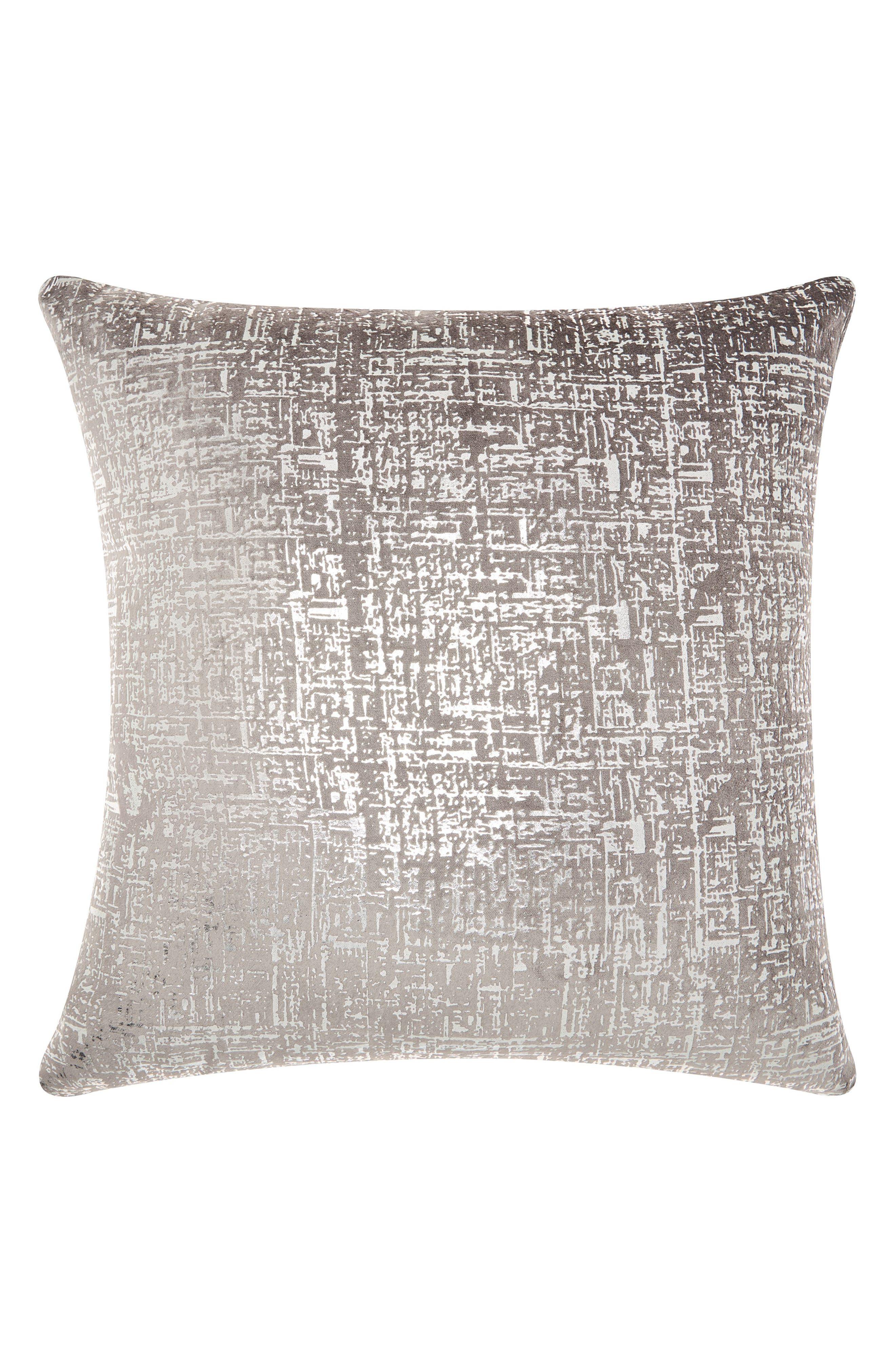 Distressed Velvet Accent Pillow,                         Main,                         color, 030