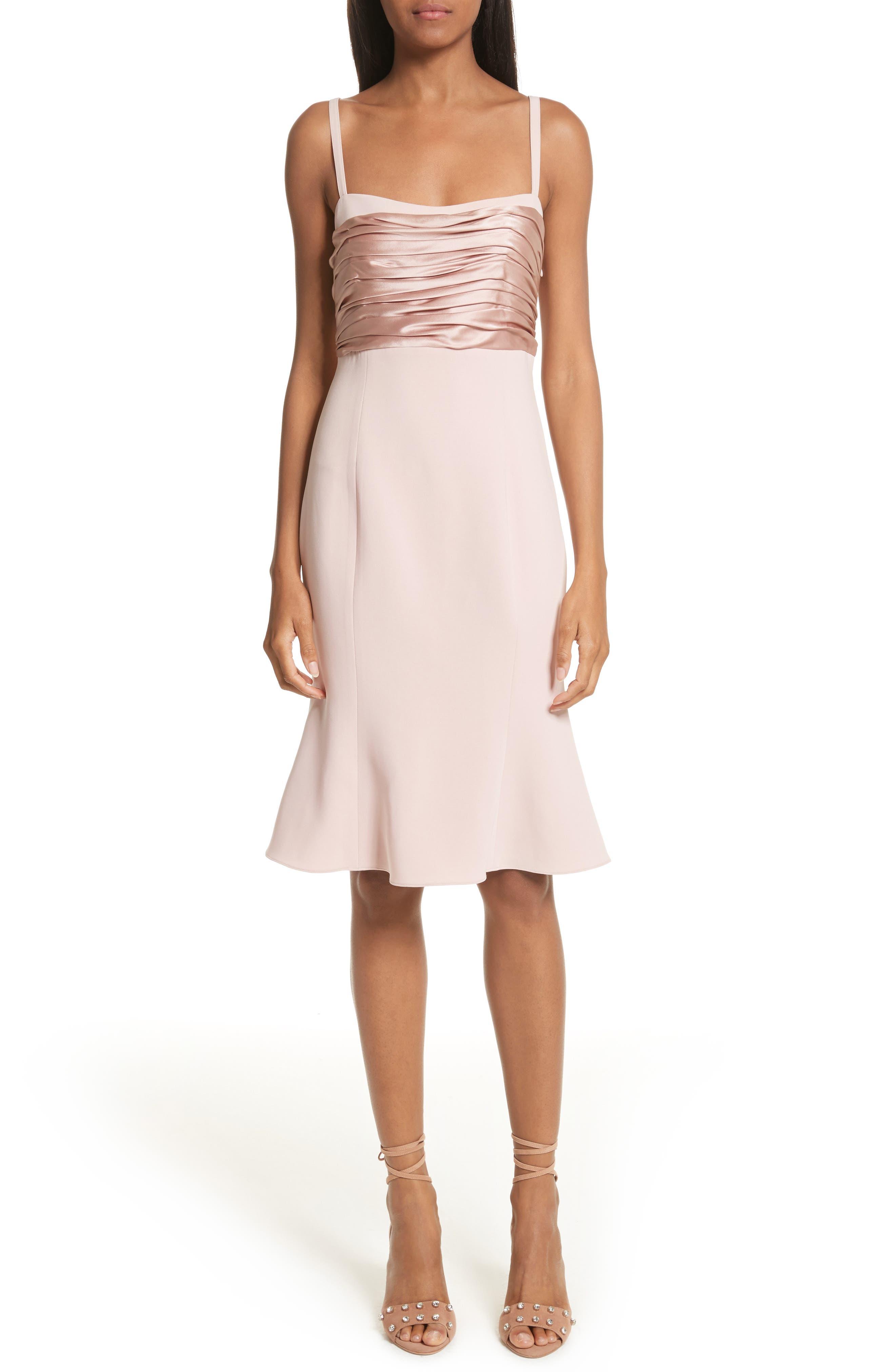 Paloma Fit & Flare Dress,                             Alternate thumbnail 5, color,                             563