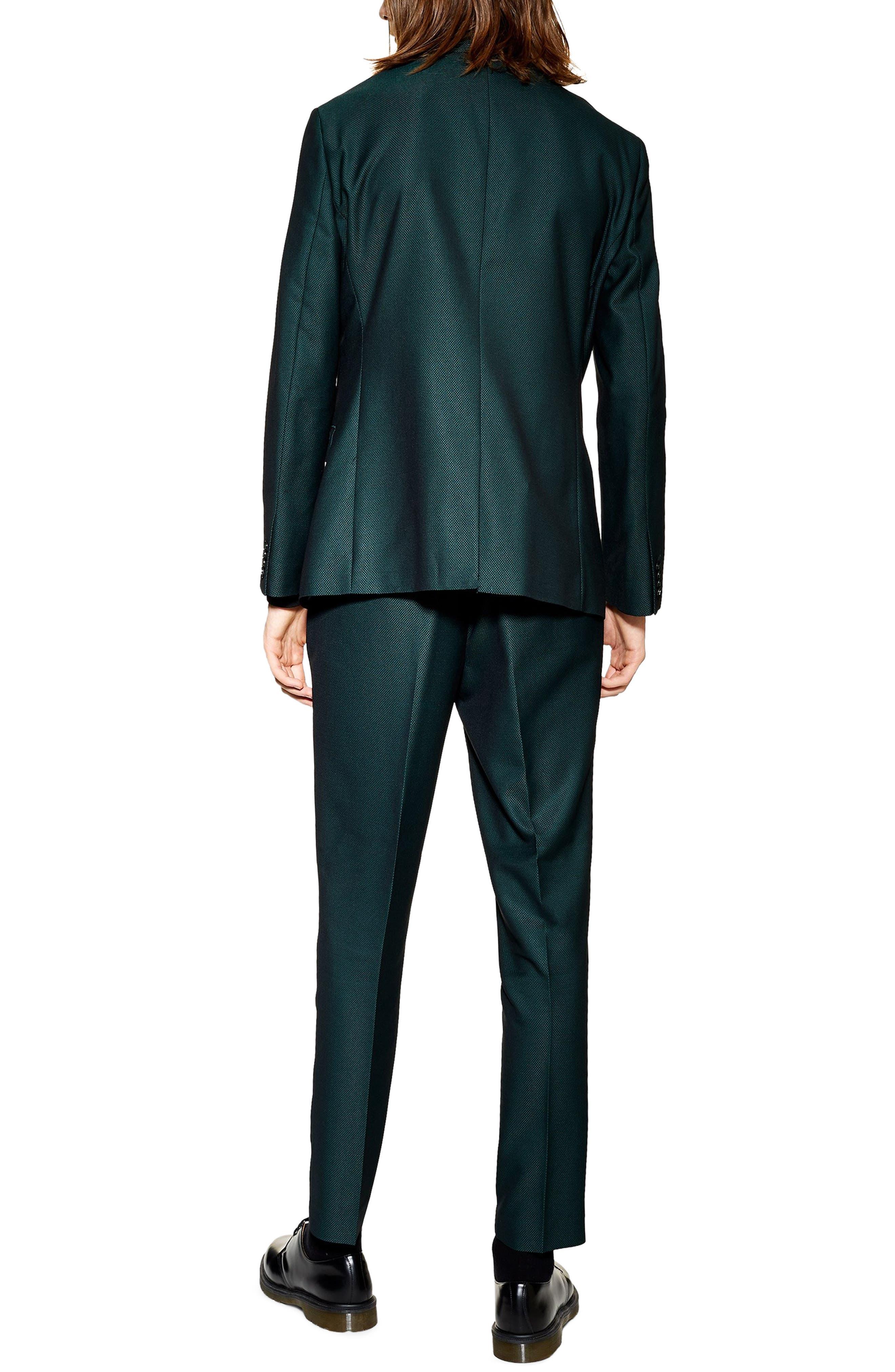 TOPMAN,                             Banbury Slim Fit Suit Trousers,                             Alternate thumbnail 2, color,                             300