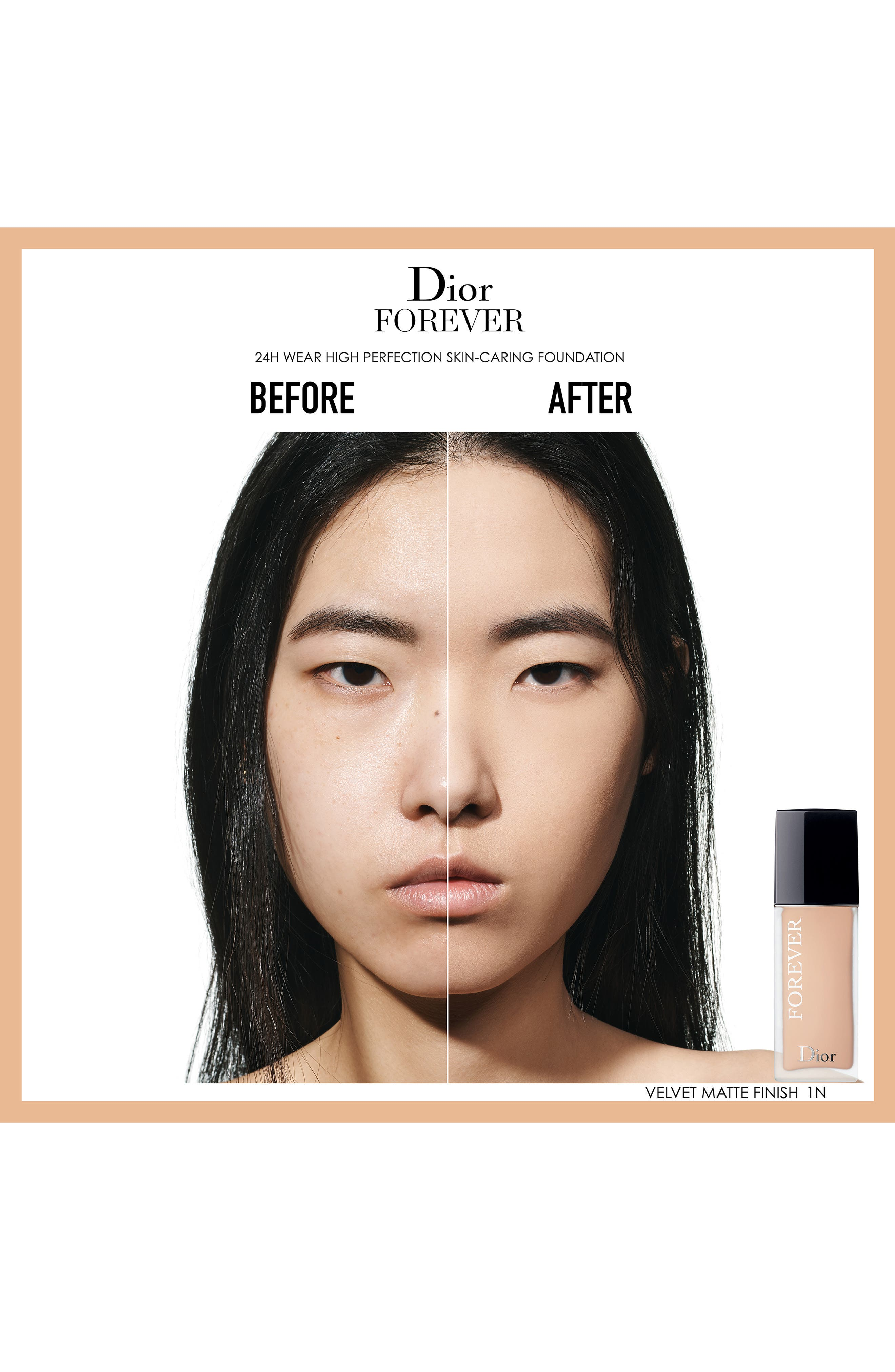Forever Wear High Perfection Skin-Caring Matte Foundation SPF 35,                             Alternate thumbnail 2, color,                             1 NEUTRAL