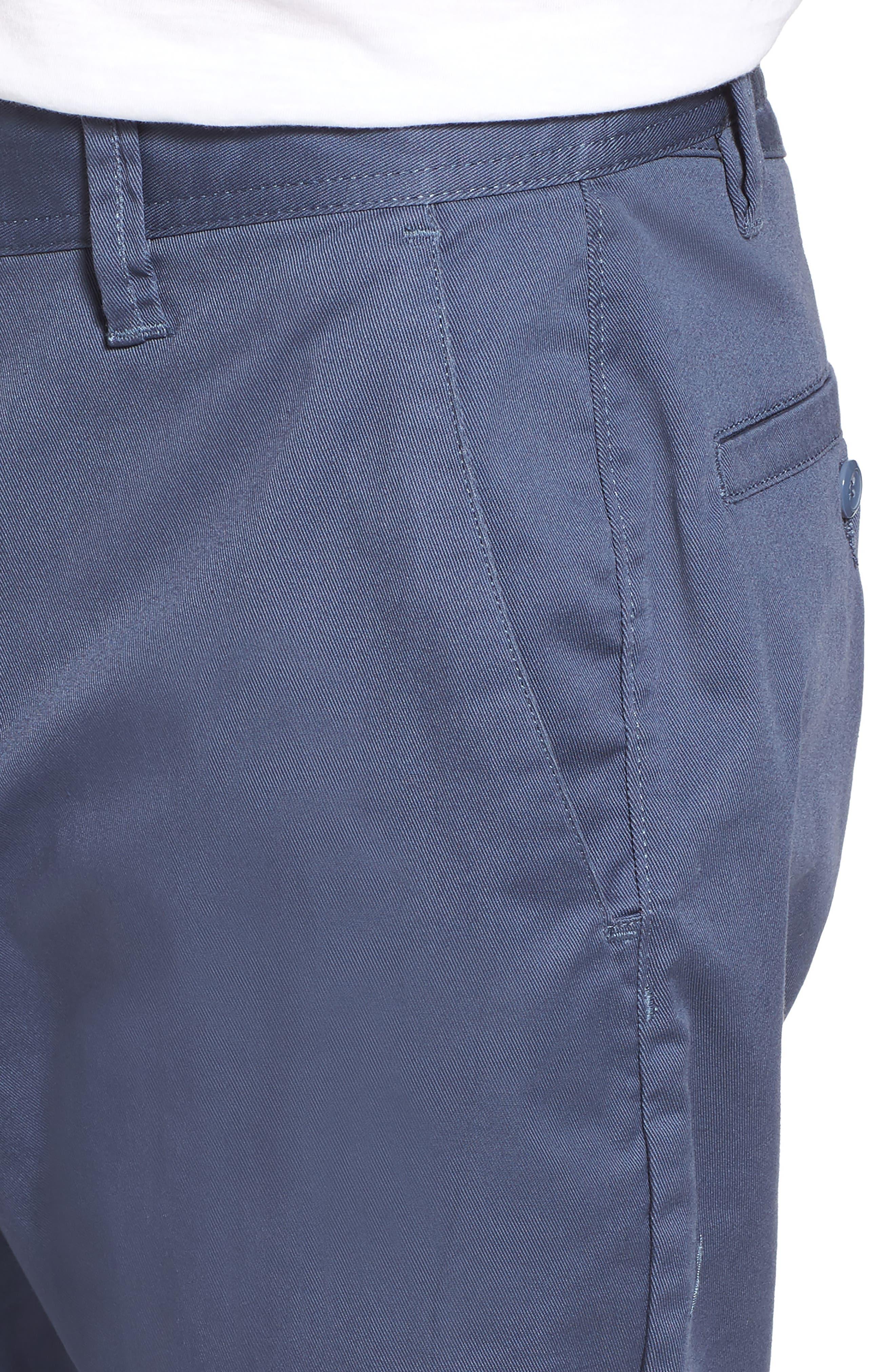 'Modern' Stretch Chino Shorts,                             Alternate thumbnail 34, color,