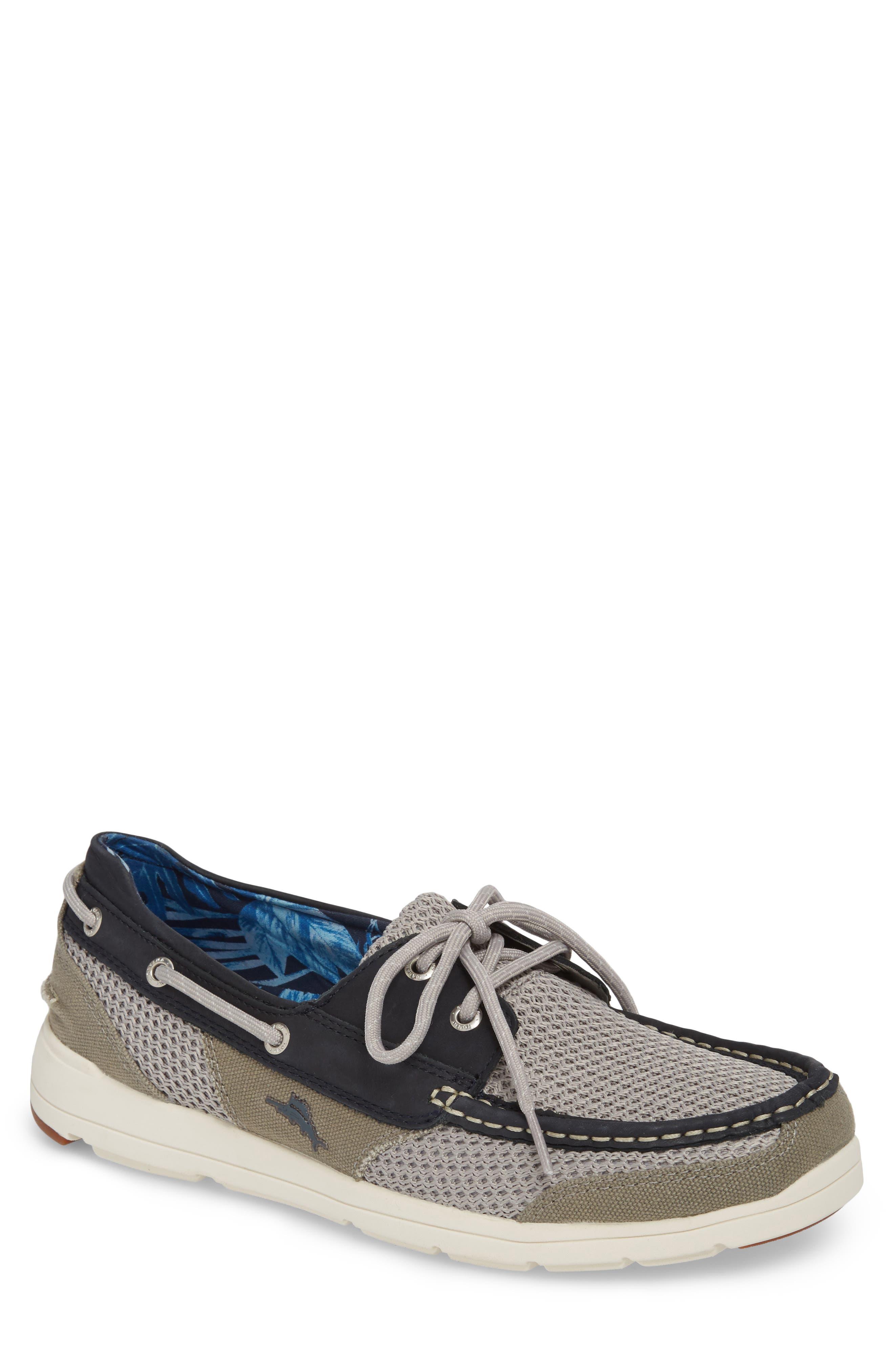 On Par Woven Boat Shoe,                         Main,                         color, 037