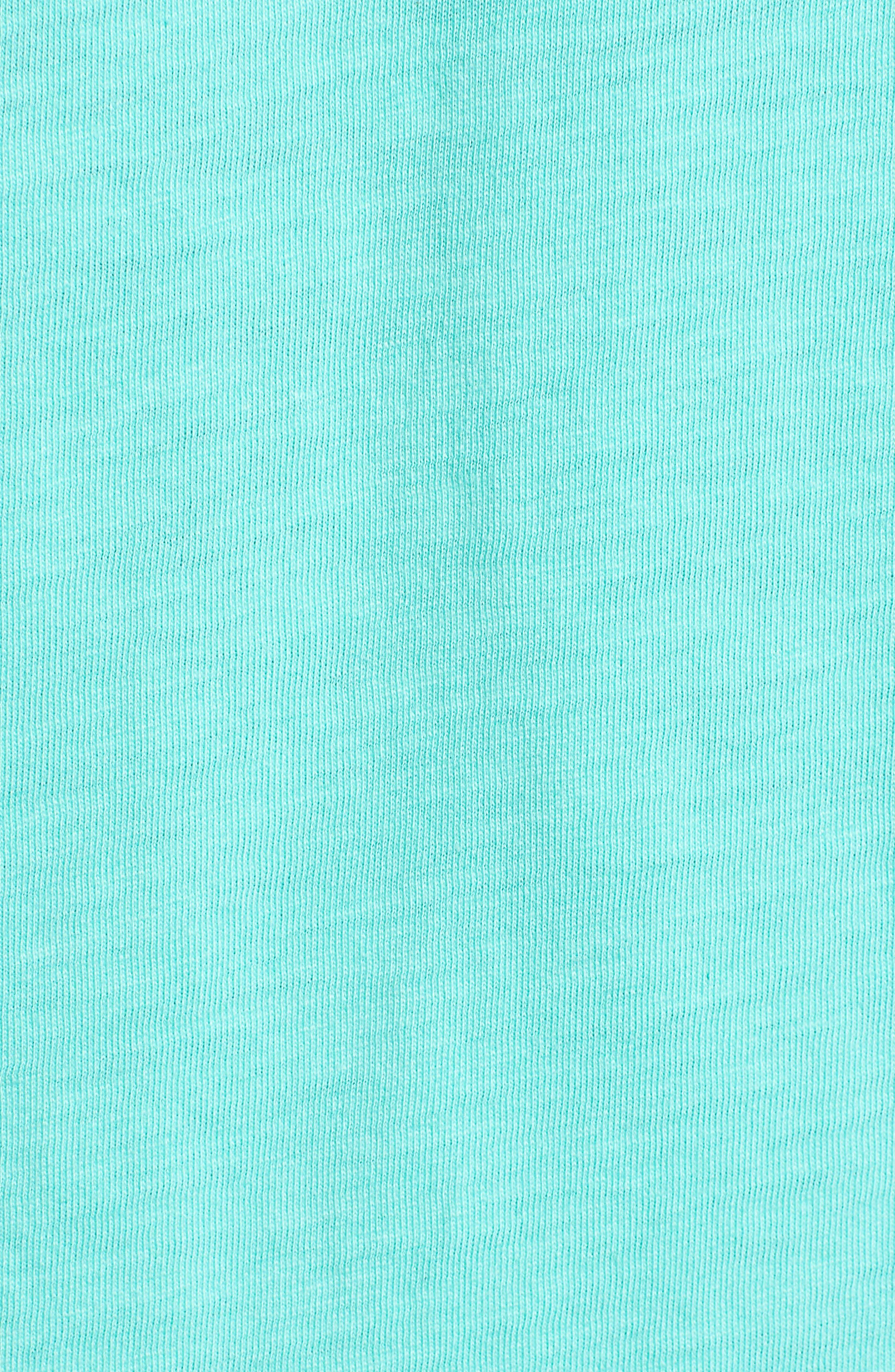 Woodblock Tuna T-Shirt,                             Alternate thumbnail 5, color,                             400