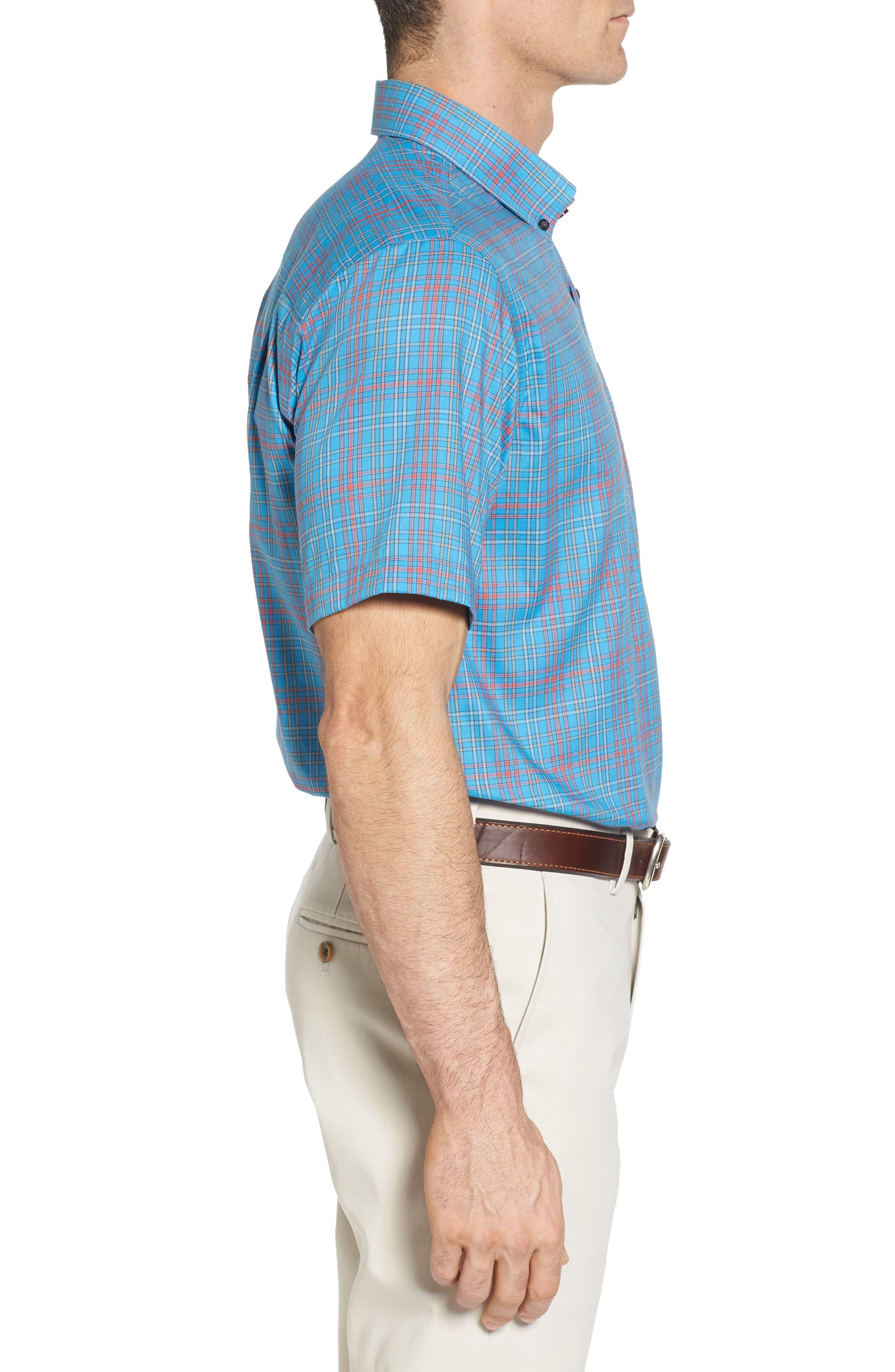 Isaac Plaid Easy Care Woven Shirt,                             Alternate thumbnail 10, color,