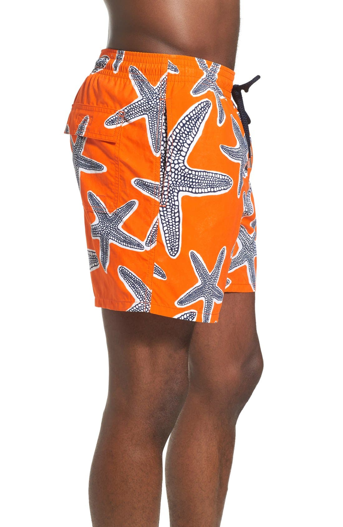 'Moorea - Starfish' Swim Trunks,                             Alternate thumbnail 3, color,                             833