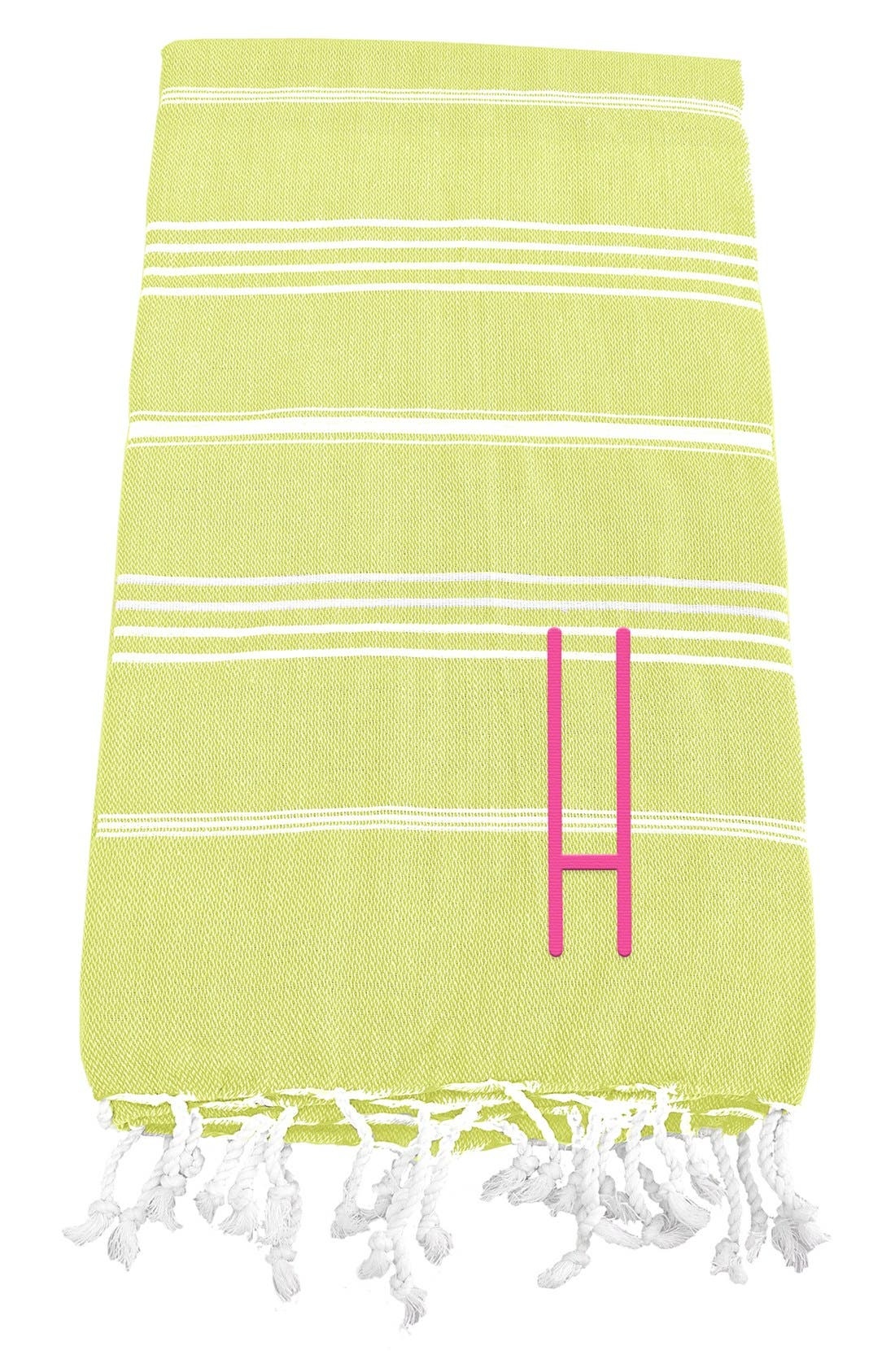 Monogram Turkish Cotton Towel,                             Main thumbnail 37, color,