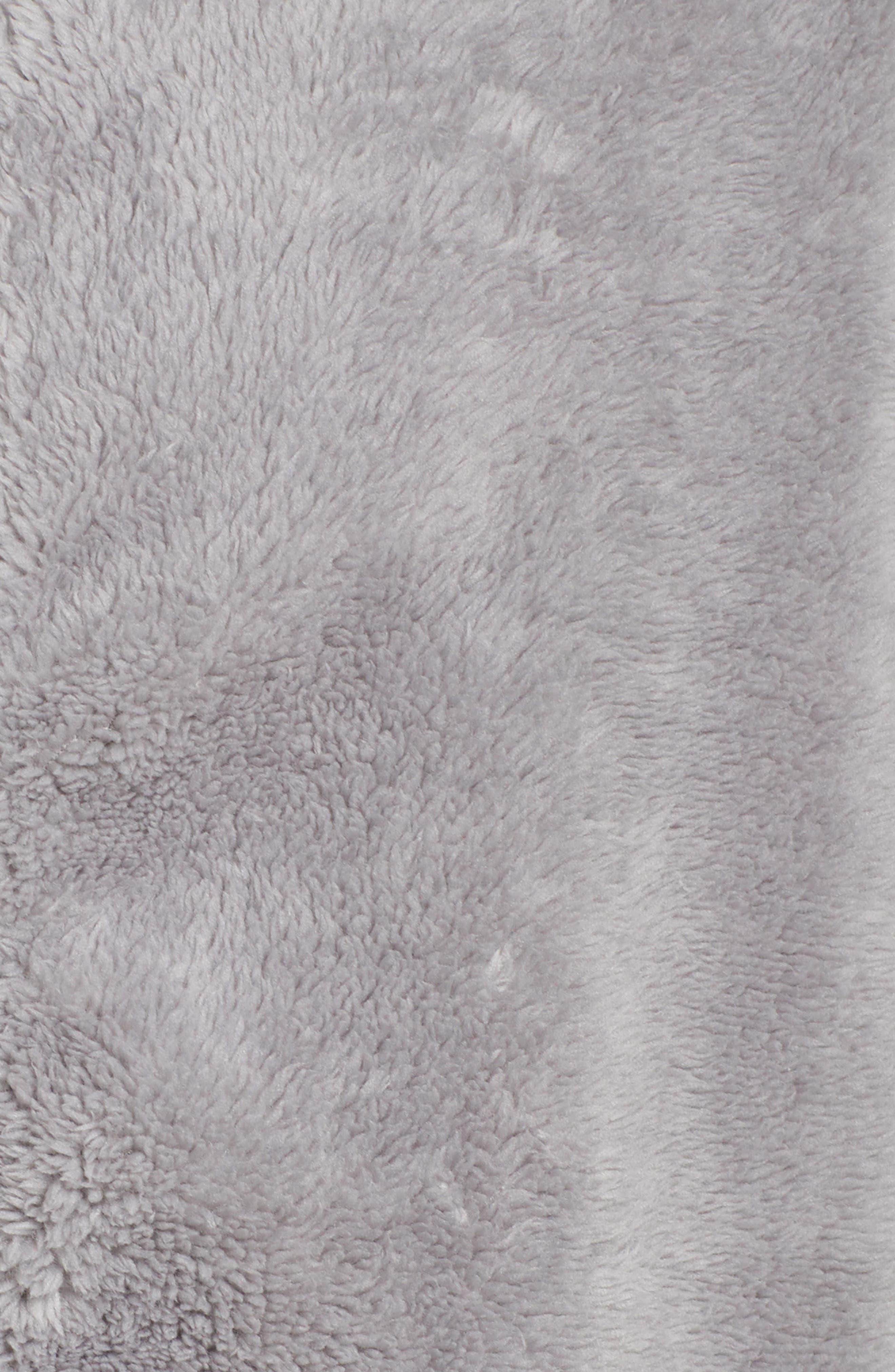 Dazed Fleece Jacket,                             Alternate thumbnail 6, color,                             GREY