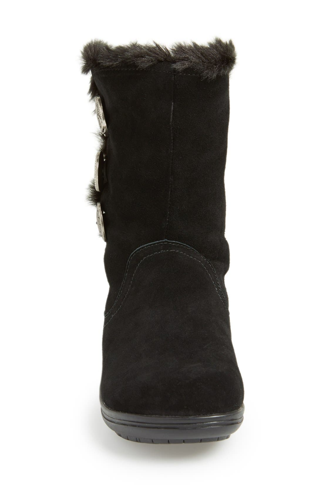'Nanook' Suede Boot,                             Alternate thumbnail 2, color,                             001