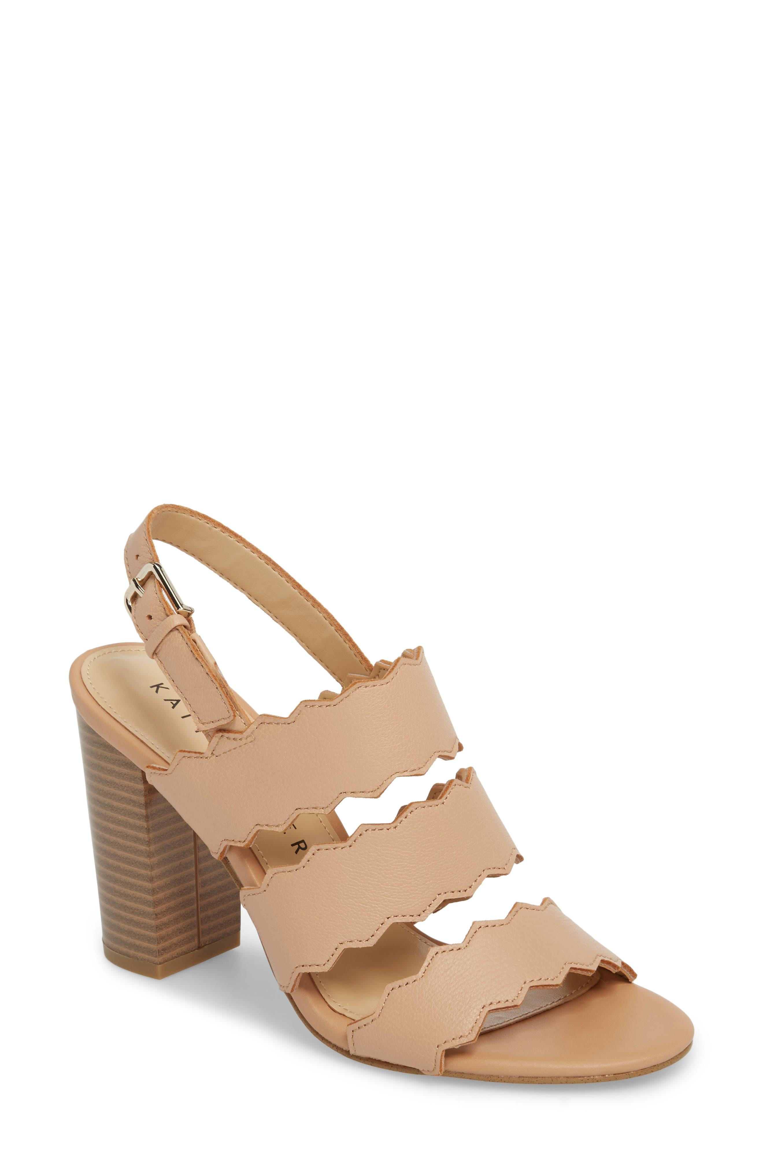 Open Toe Sandal,                         Main,                         color, NUDE LEATHER