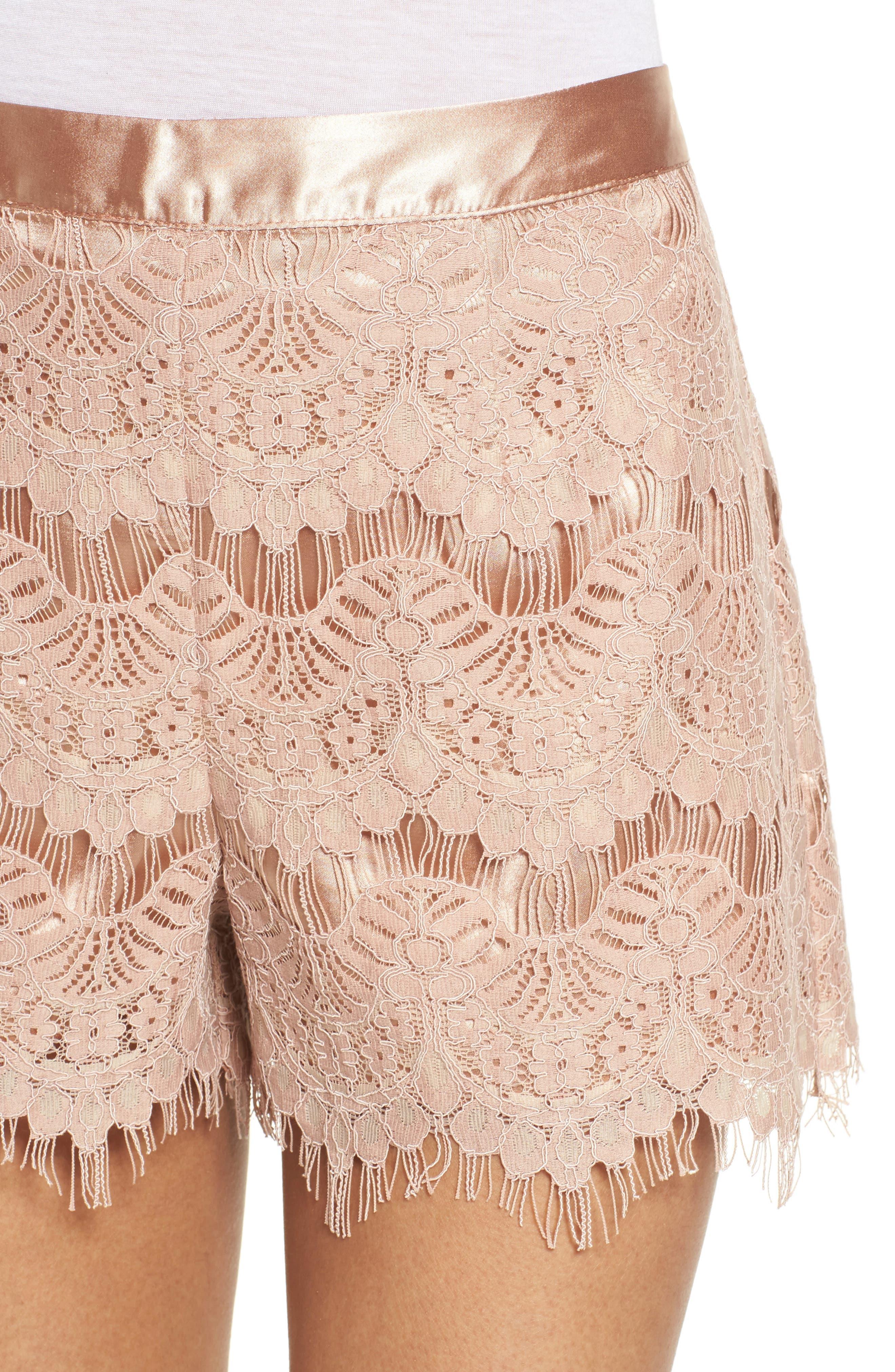 Lace Shorts,                             Alternate thumbnail 4, color,                             680