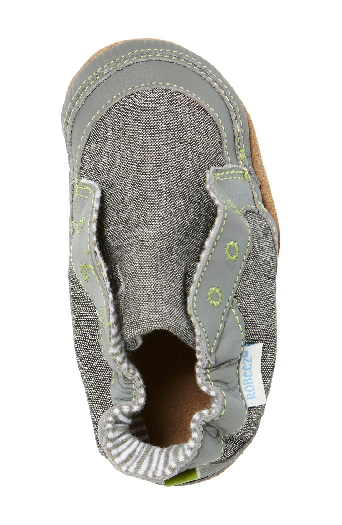 'Stylish Steve' Slip On,                             Alternate thumbnail 3, color,                             GREY