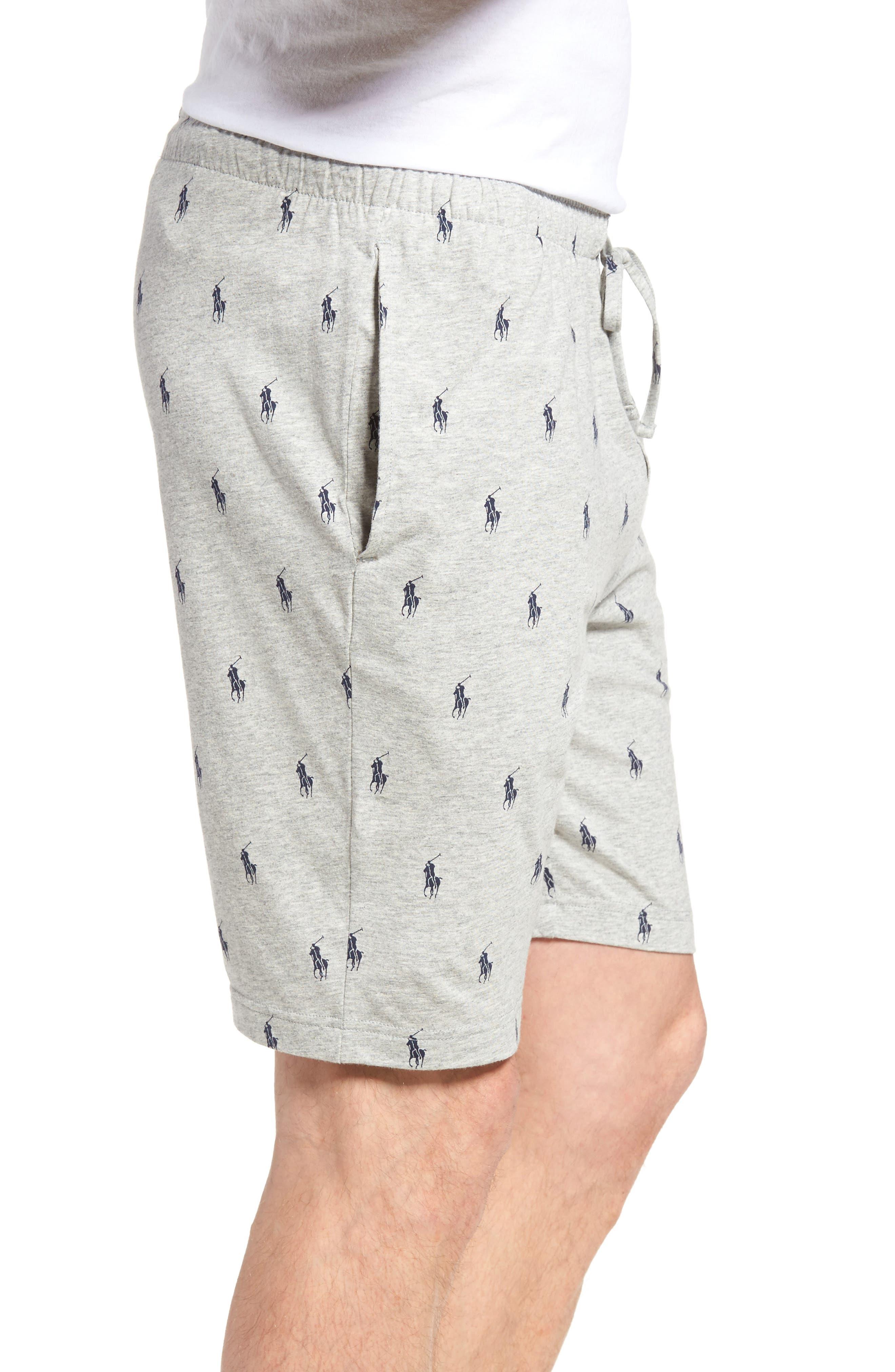 Cotton Sleep Shorts,                             Alternate thumbnail 7, color,