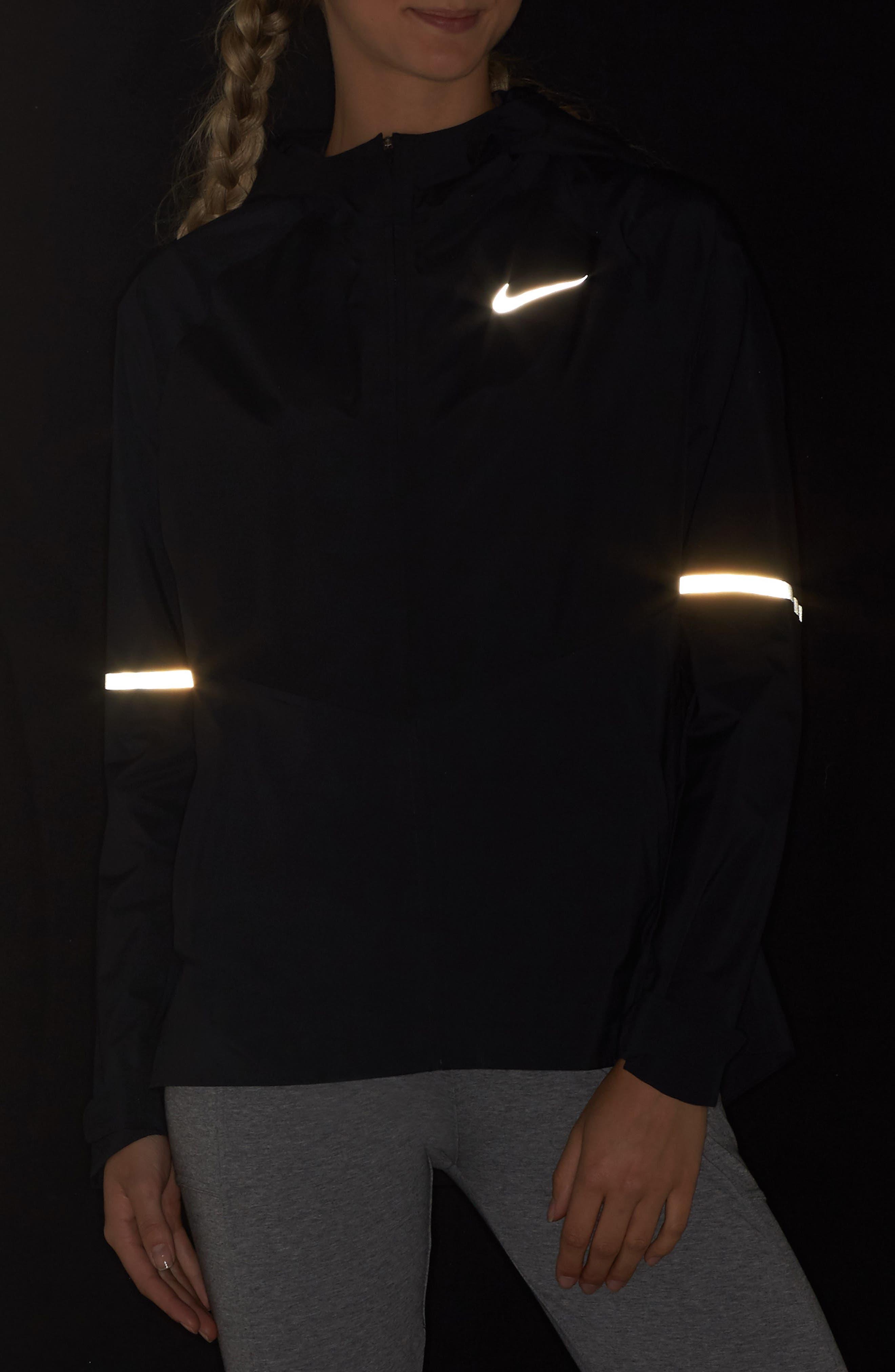 Zonal AeroShield Hooded Running Jacket,                             Alternate thumbnail 4, color,                             010
