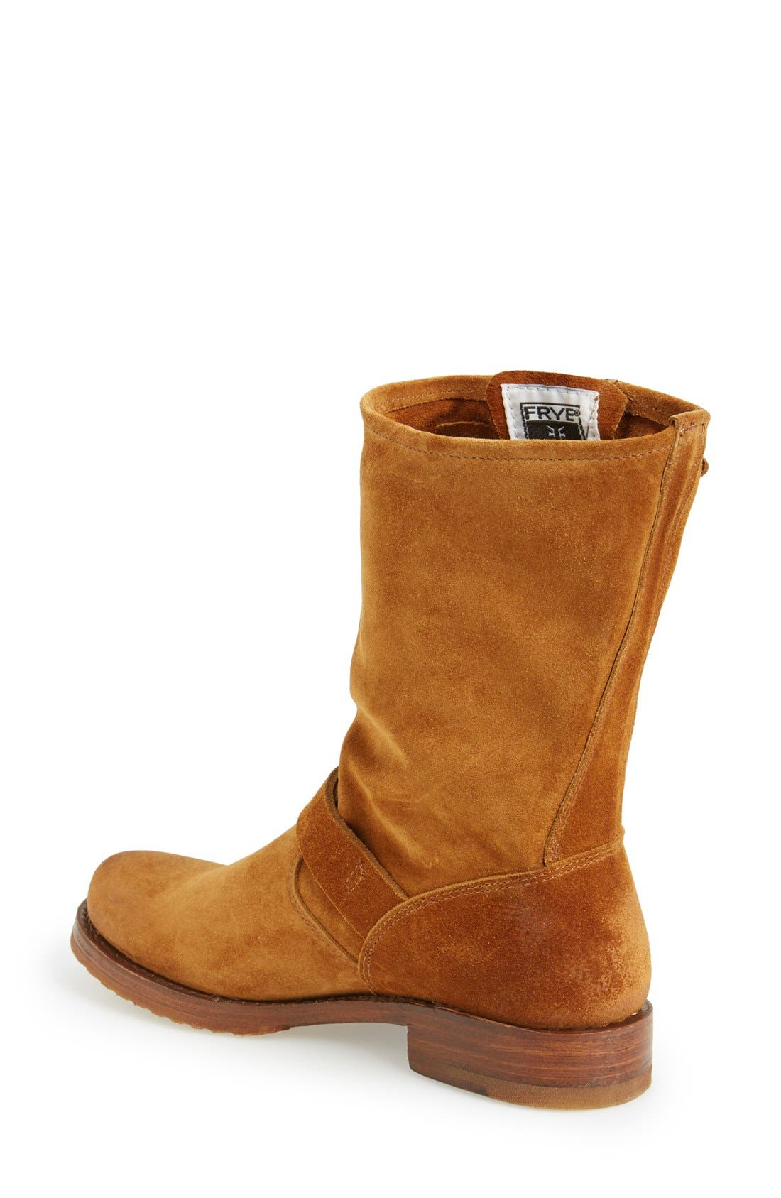 'Veronica Short' Slouchy Boot,                             Alternate thumbnail 40, color,