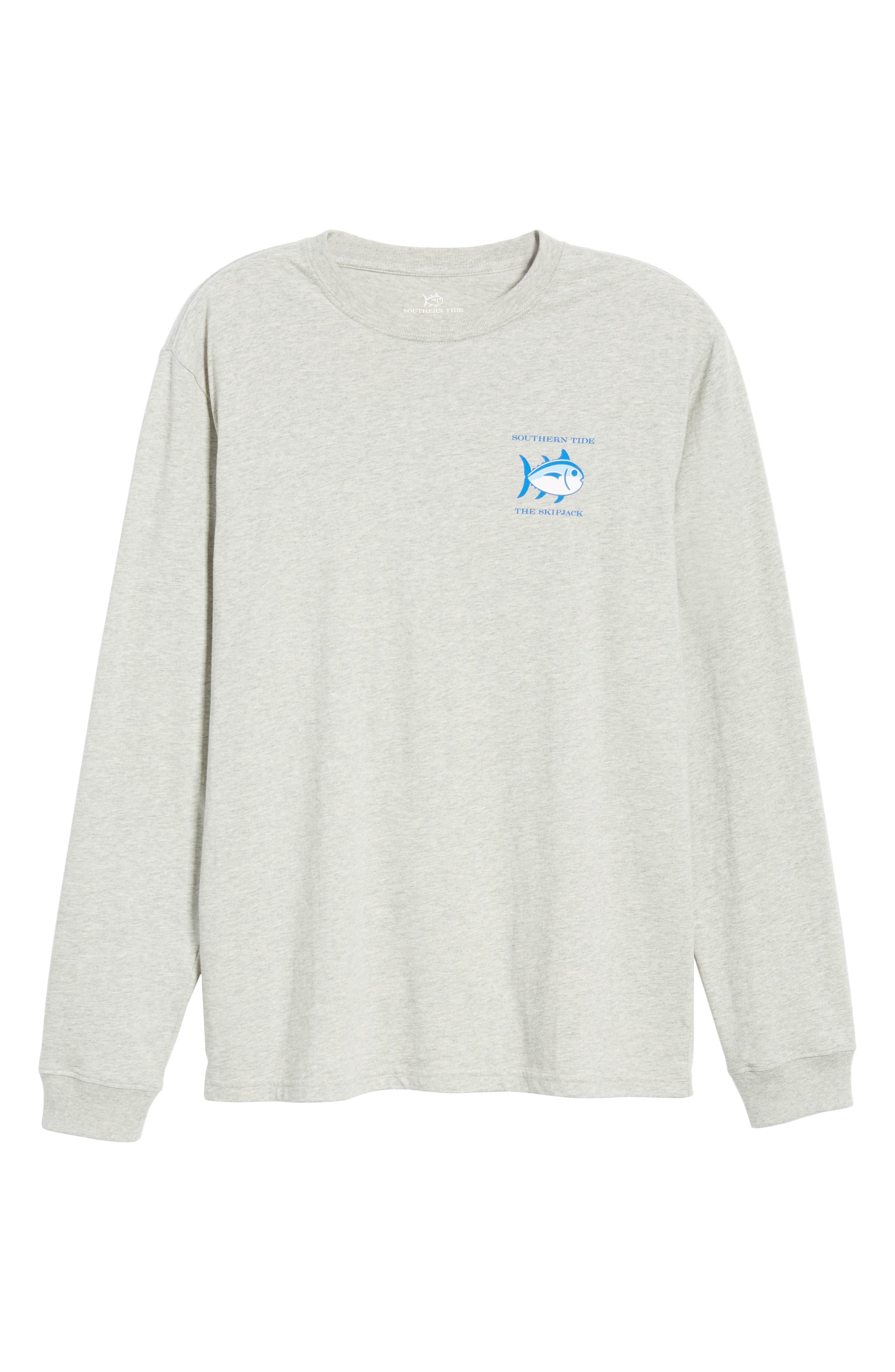 Original Skipjack T-Shirt,                             Alternate thumbnail 6, color,                             LIGHT GREY