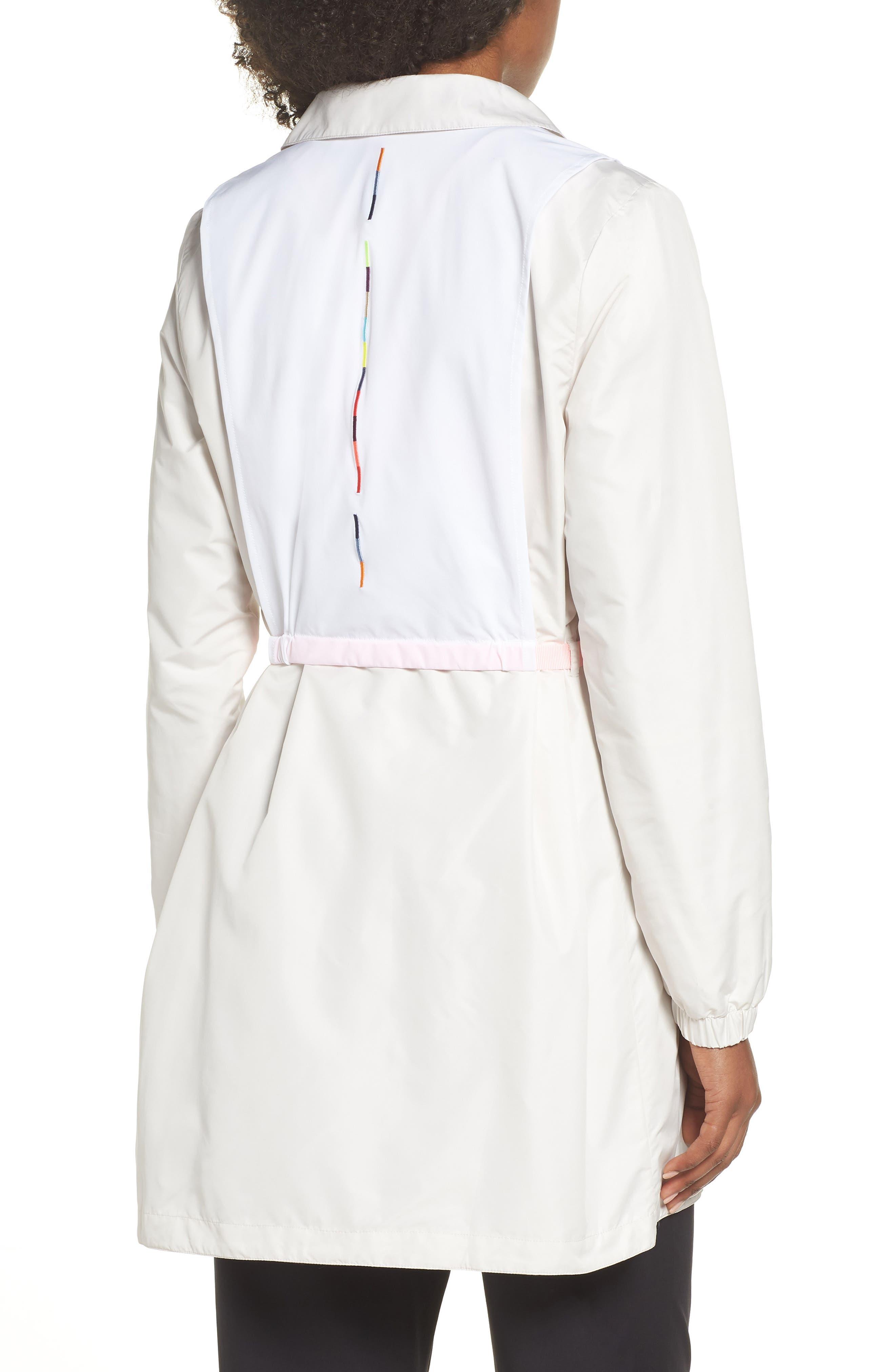 Hybrid Coaches Jacket/Dress,                             Alternate thumbnail 2, color,                             PHANTOM/ WHITE/ ARCTIC PUNCH