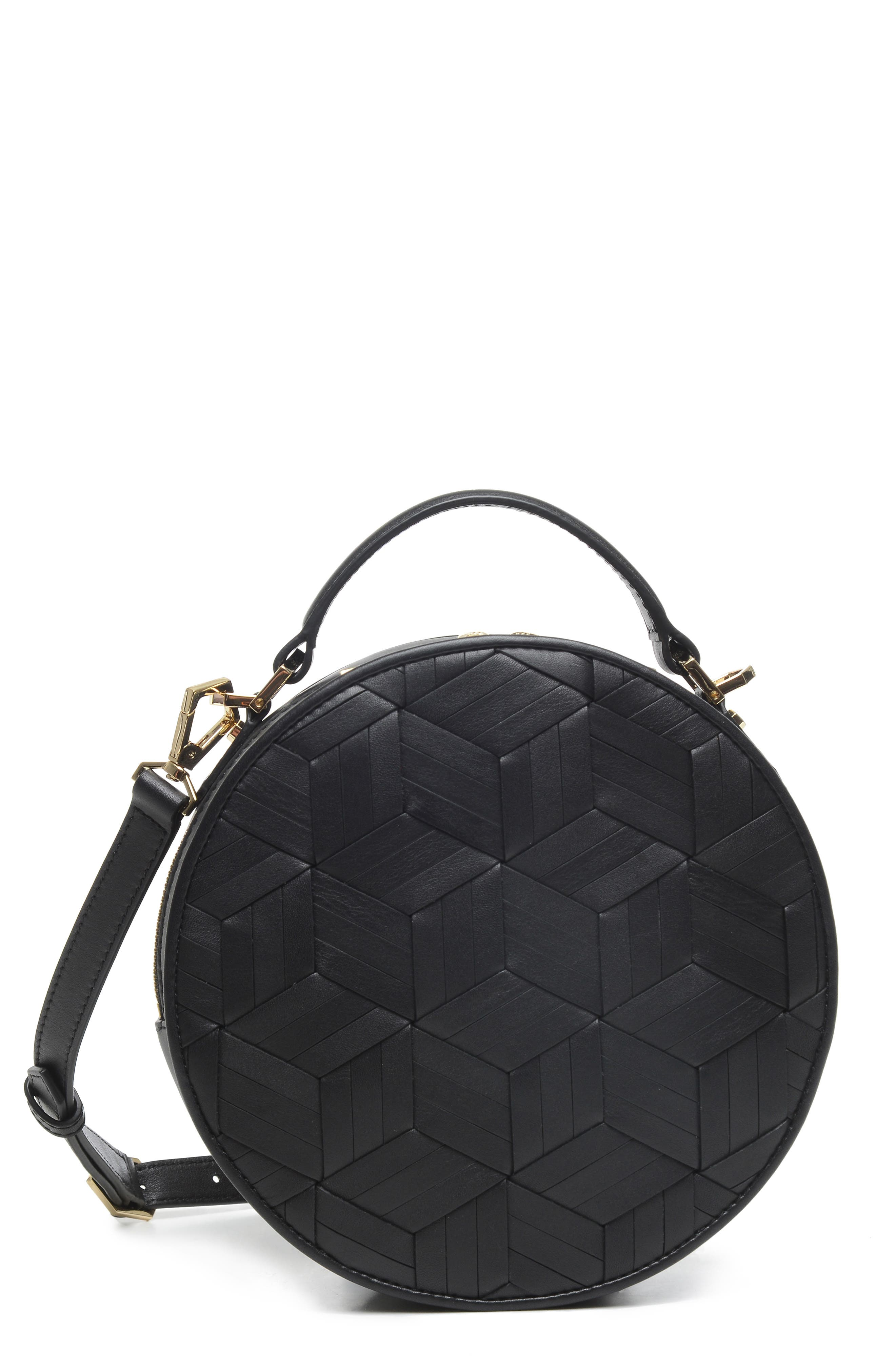 WELDEN Meridian Leather Crossbody Bag - Black
