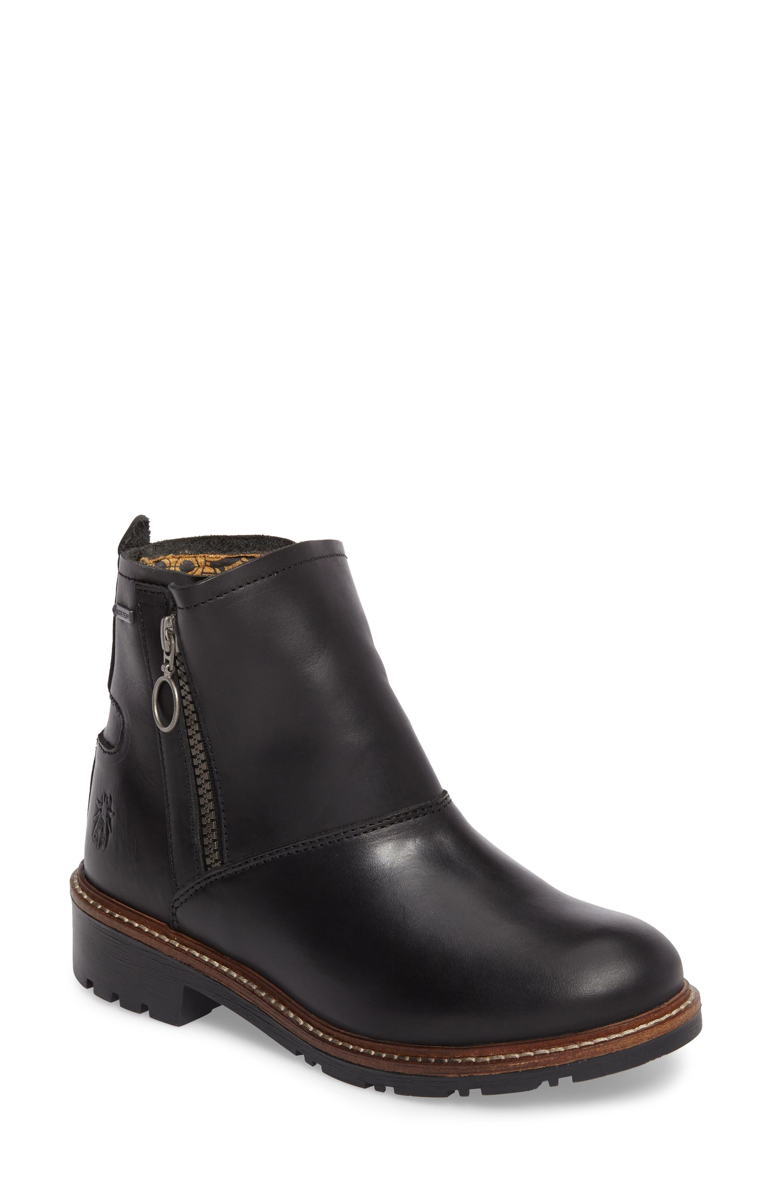 Shin Waterproof Gore-Tex<sup>®</sup> Boot,                         Main,                         color, 001