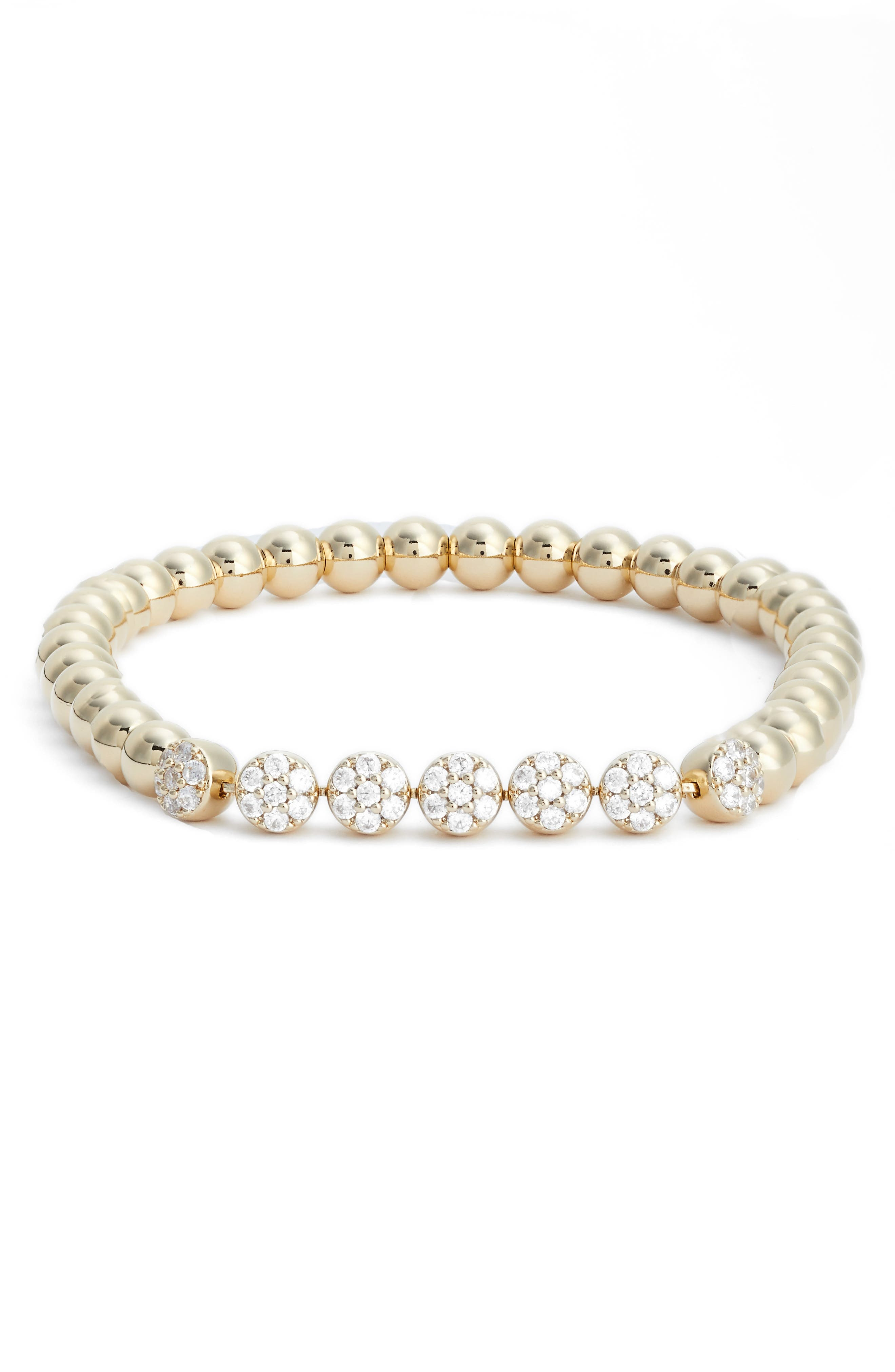 Cubic Zirconia Bracelet,                             Main thumbnail 3, color,