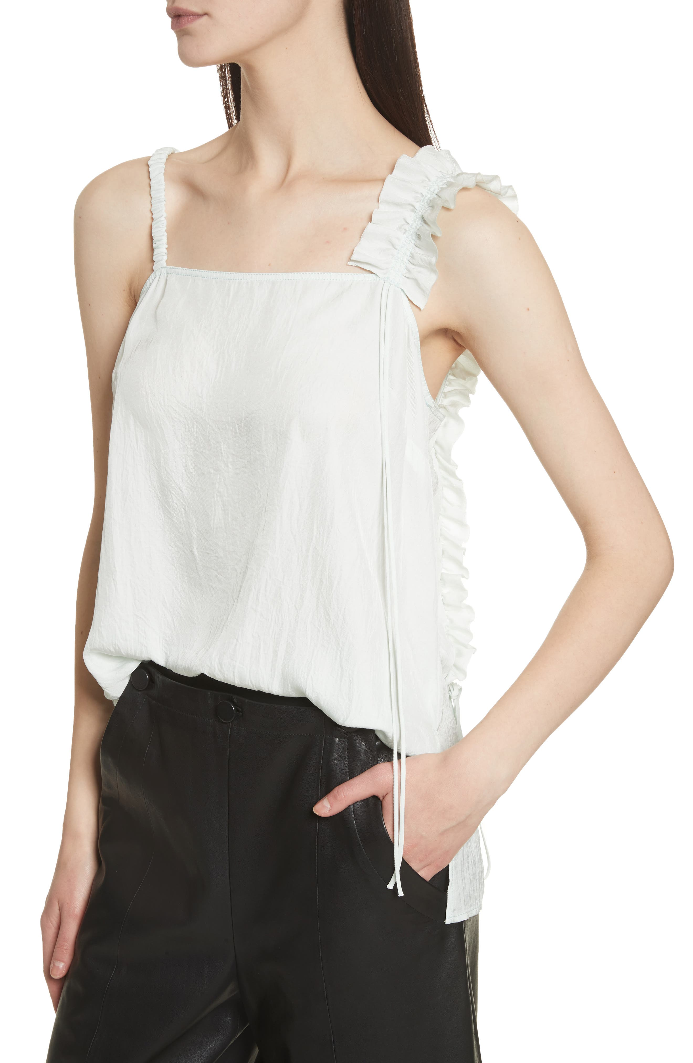 Ruffle Camisole,                             Alternate thumbnail 4, color,                             300
