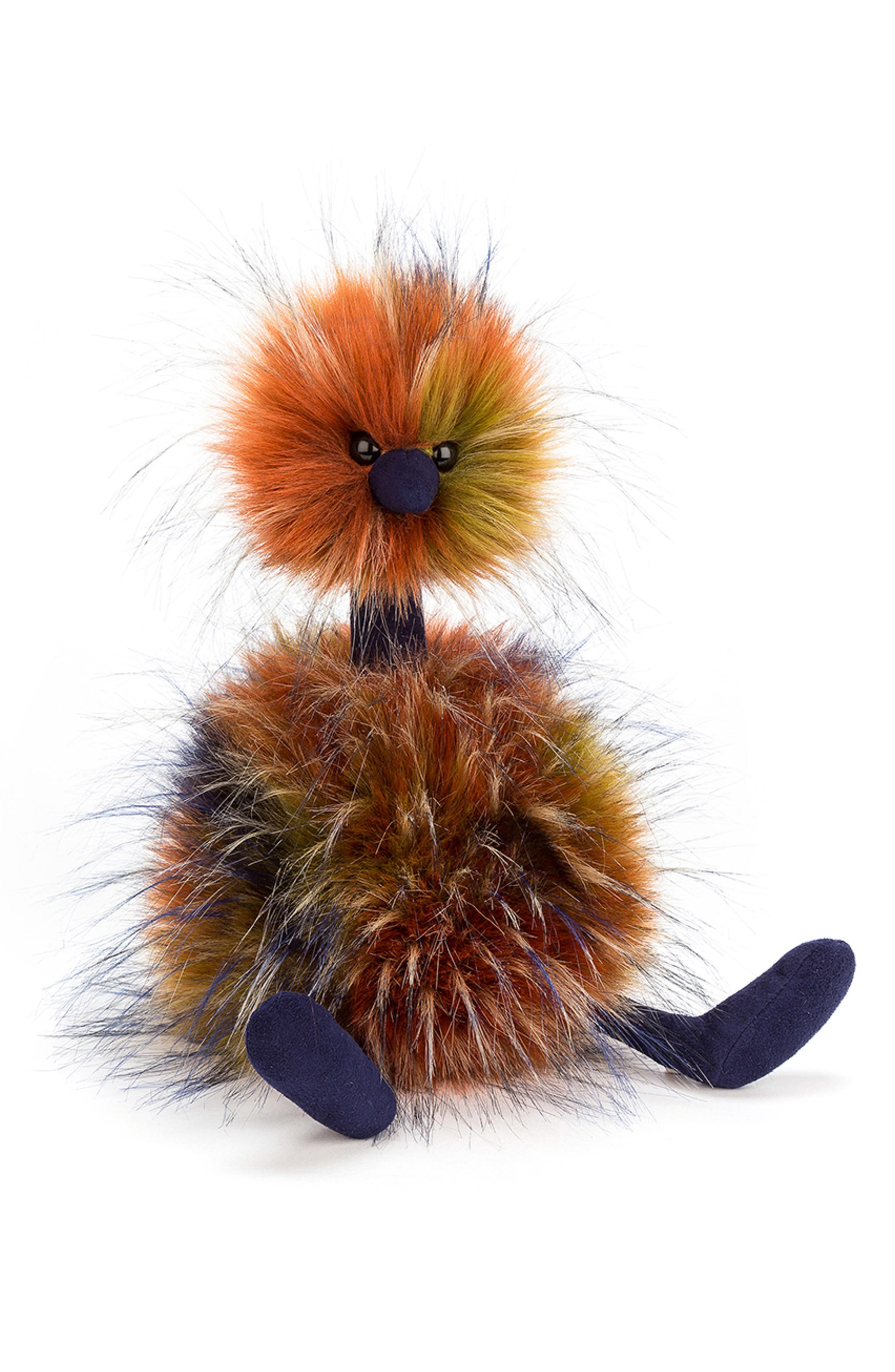 Large Spiced Pom Pom Stuffed Animal,                             Main thumbnail 1, color,                             MULTI
