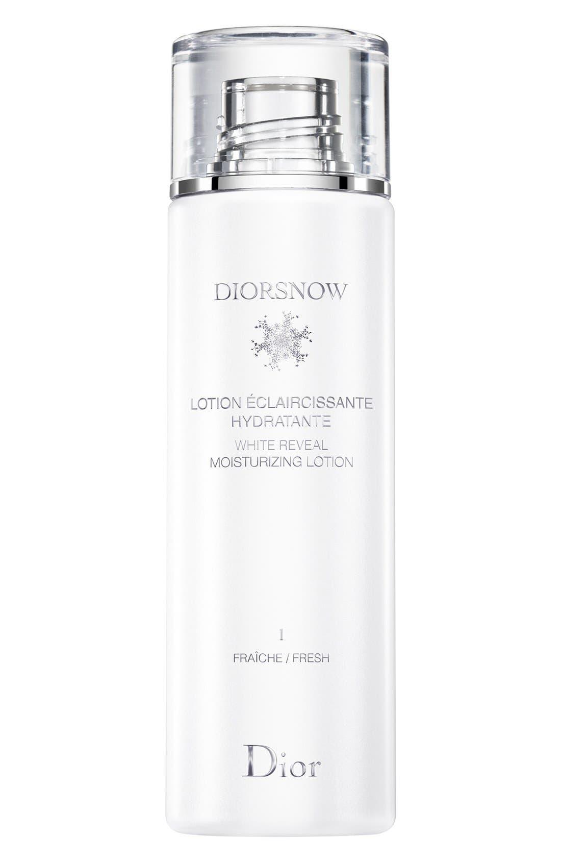 'Diorsnow' White Reveal Moisturizing Lotion Fresh,                             Main thumbnail 1, color,                             000