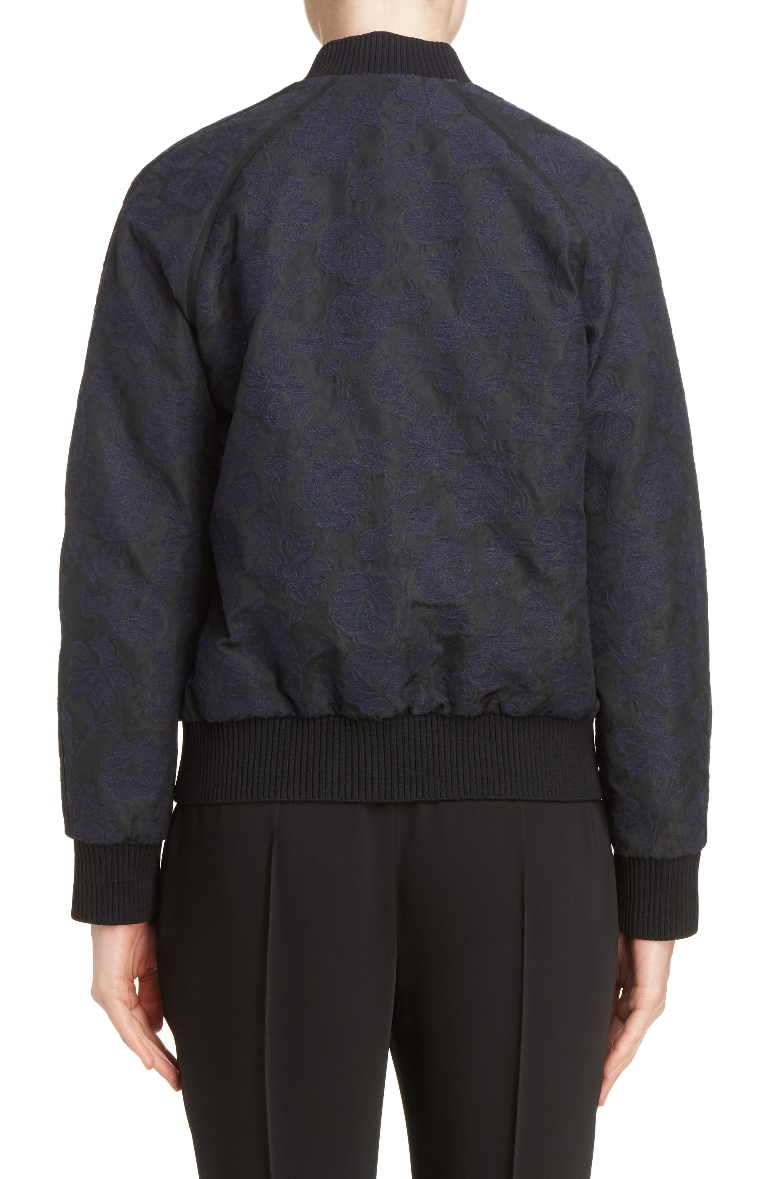 Jacquard Bomber Jacket,                             Alternate thumbnail 2, color,                             402