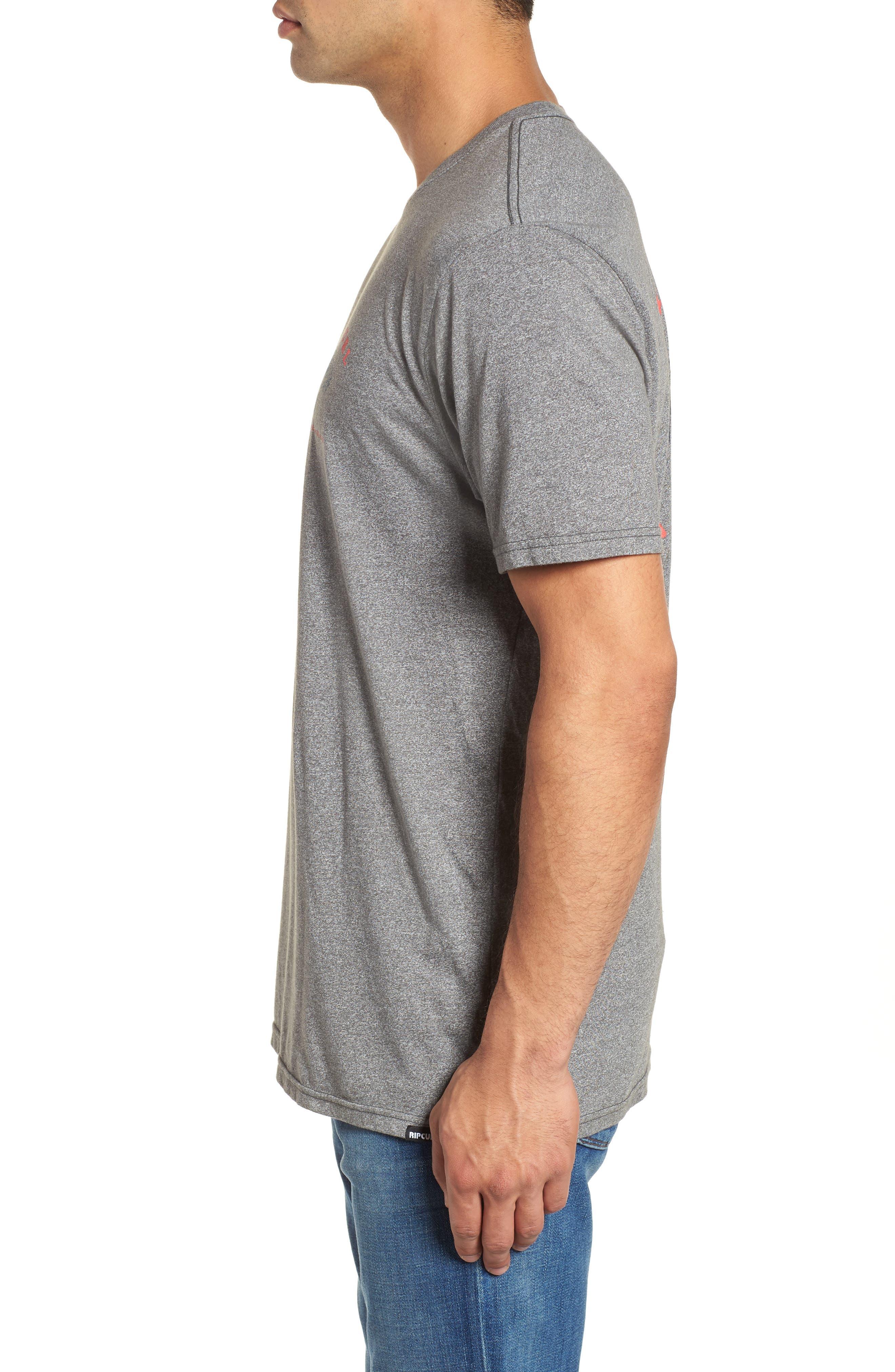 Beach Break Mock Twist T-Shirt,                             Alternate thumbnail 3, color,
