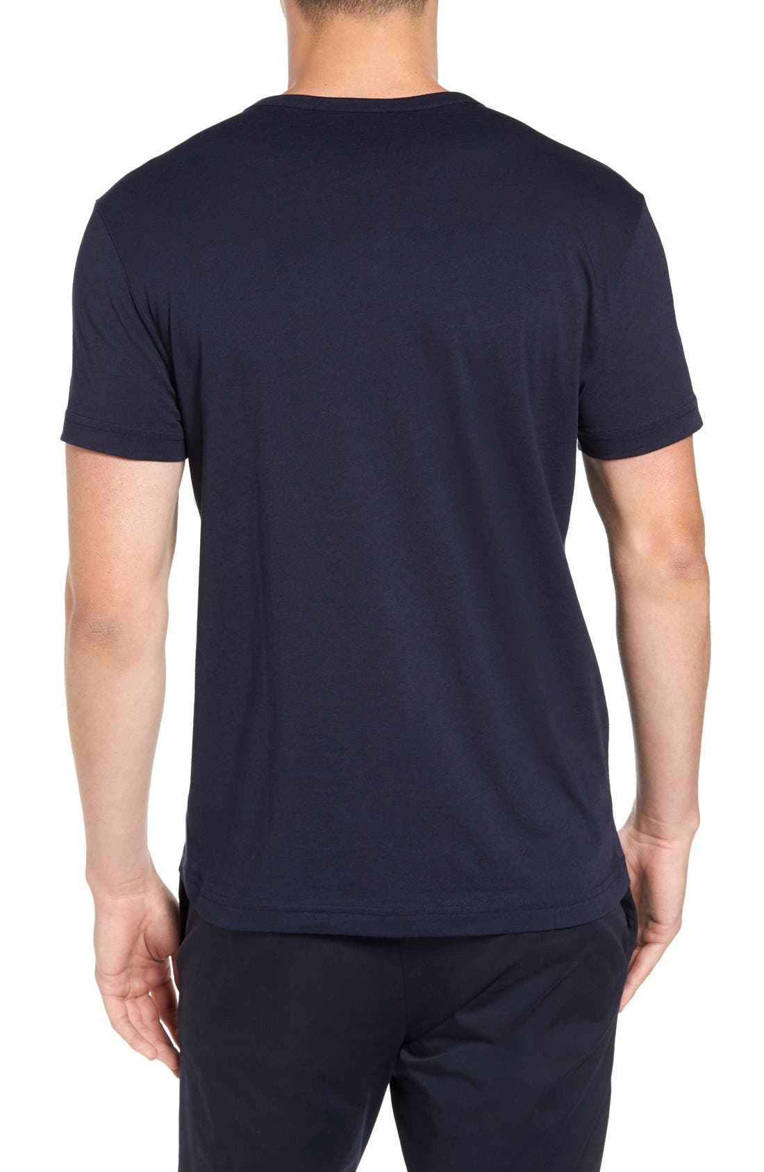 Henley T-Shirt,                             Alternate thumbnail 8, color,