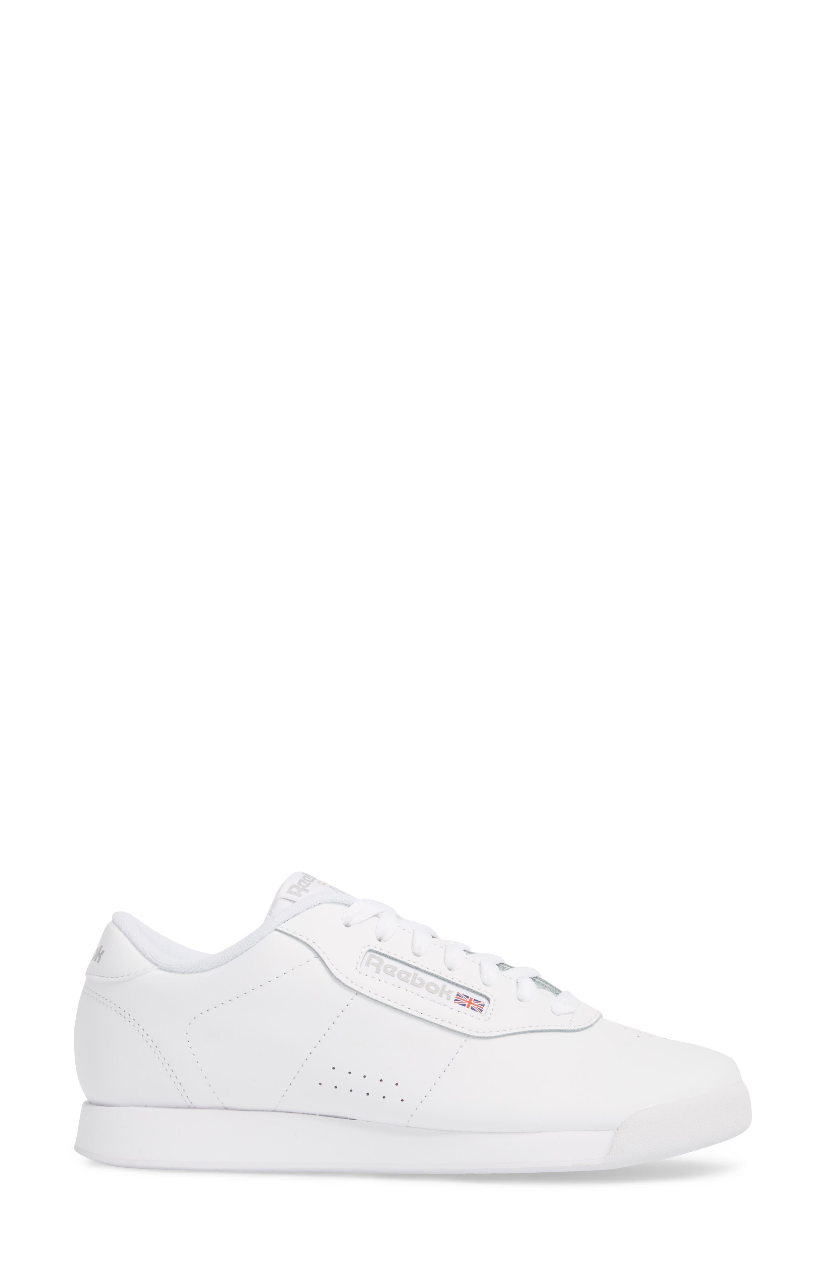 Princess Sneaker,                             Alternate thumbnail 3, color,                             WHITE