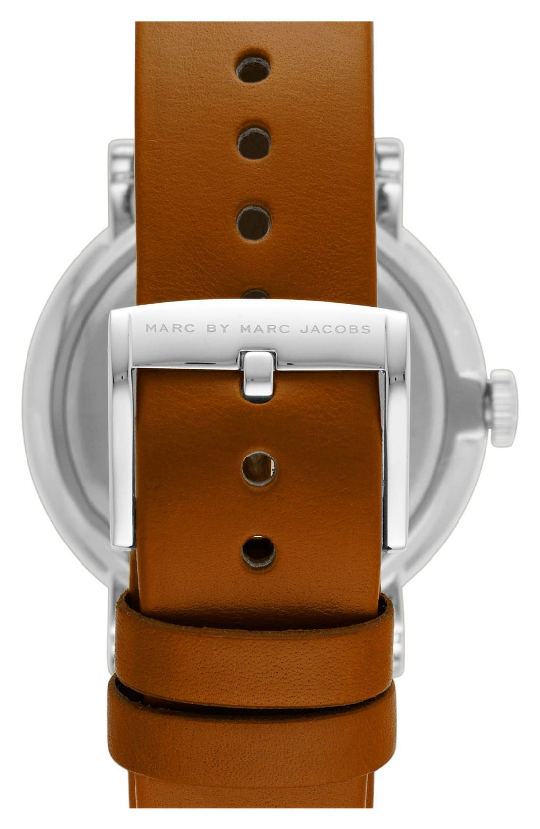 'Baker' Leather Strap Watch, 37mm,                             Alternate thumbnail 15, color,