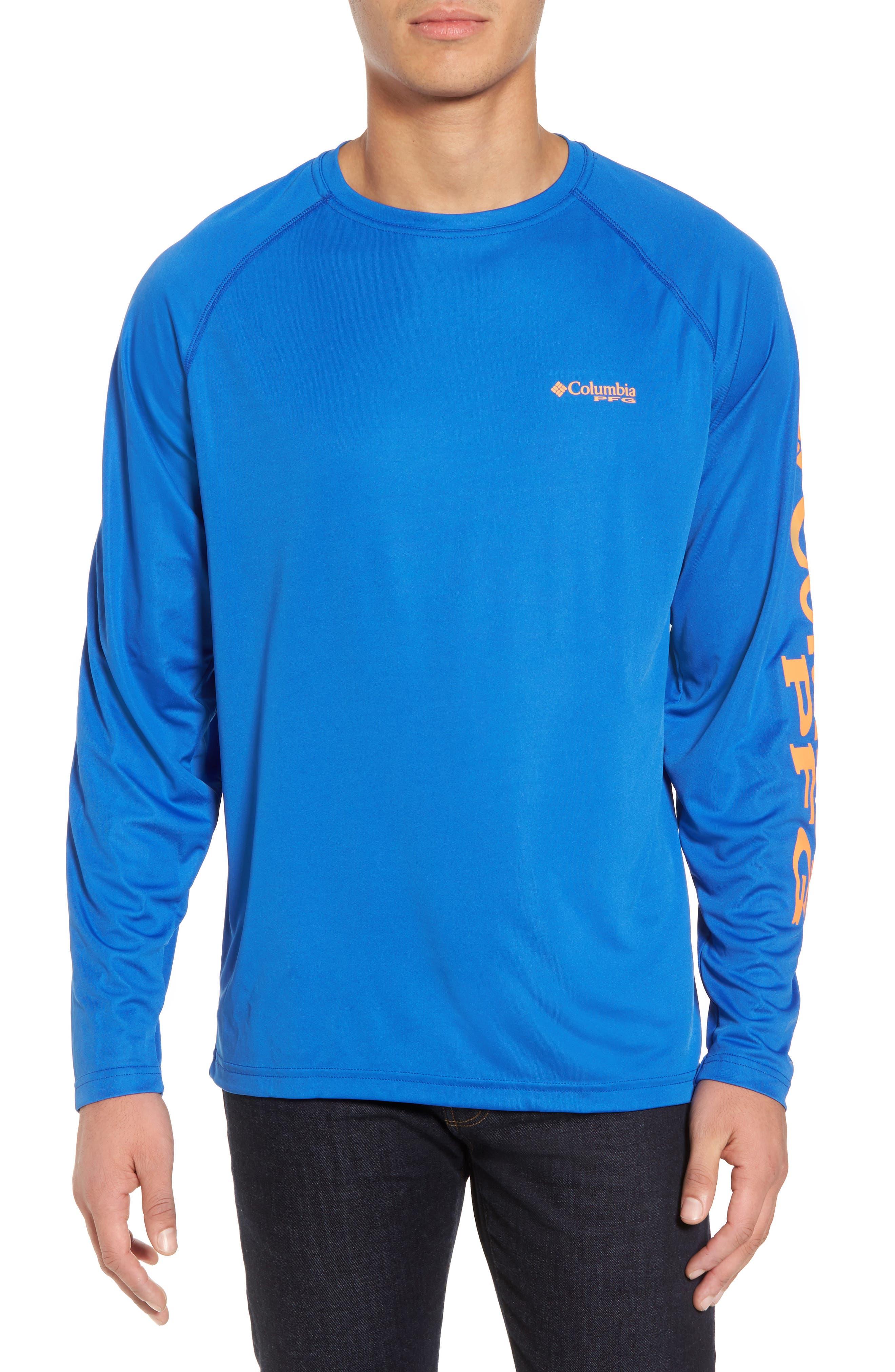 PFG Terminal Tackle Performance Long Sleeve T-Shirt,                             Main thumbnail 3, color,