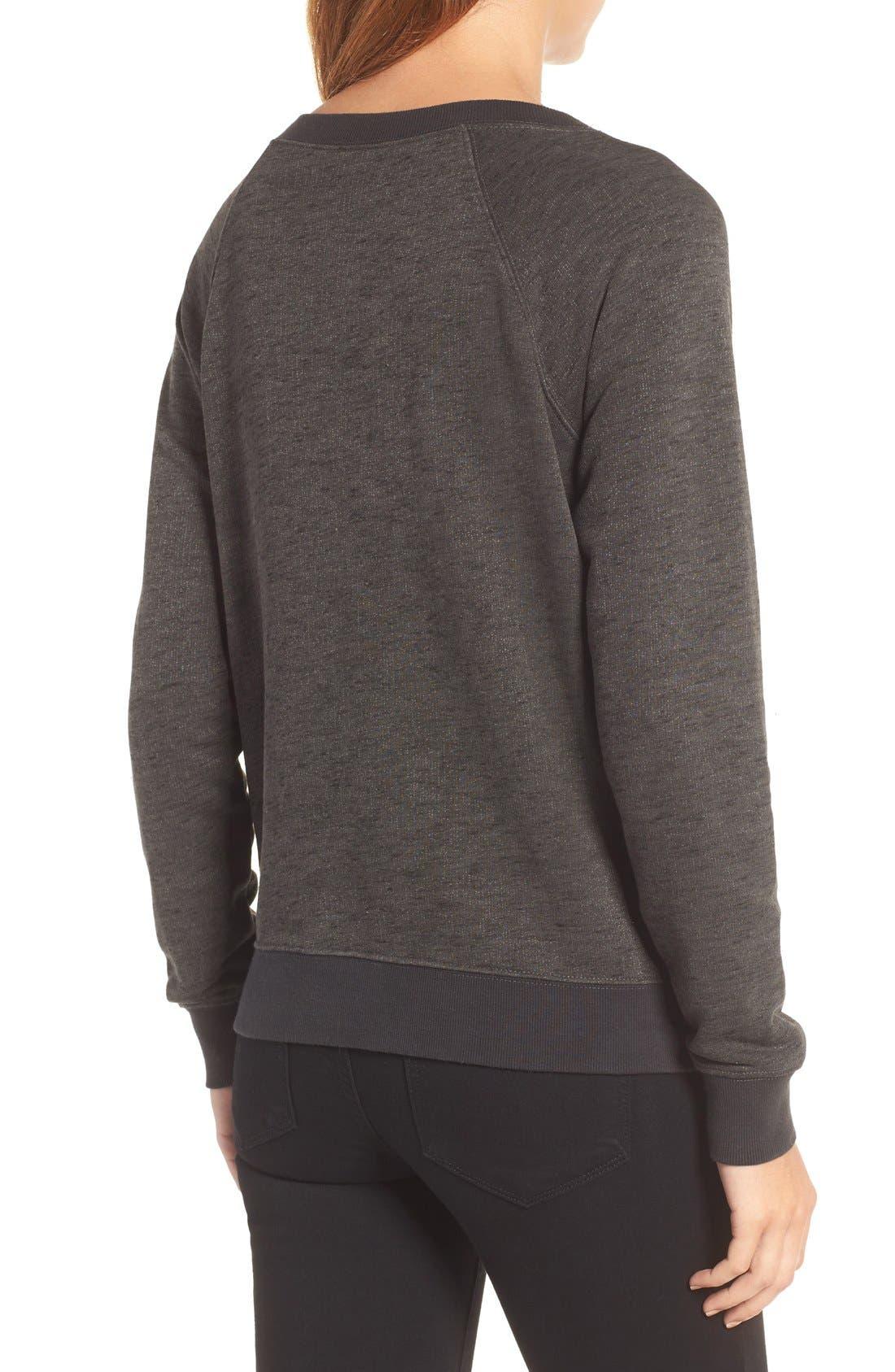 Studded Sweatshirt,                             Alternate thumbnail 4, color,                             094