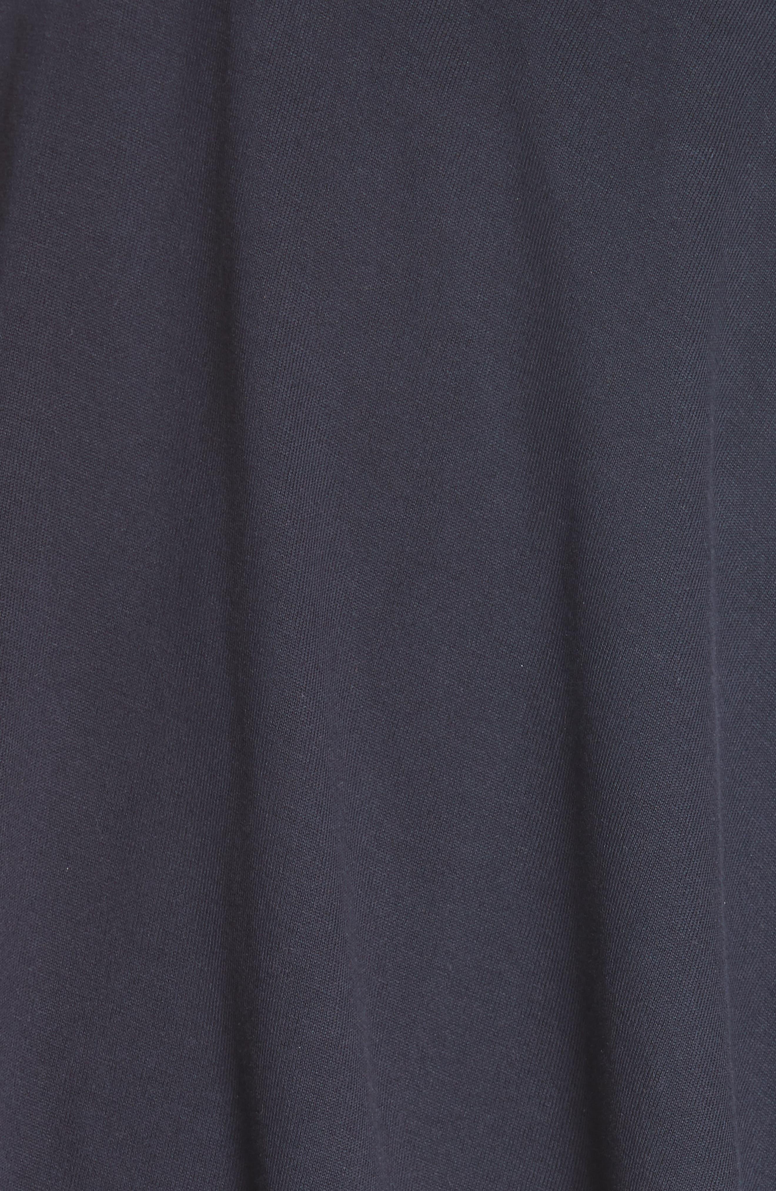 Doubled Short Sleeve Tee,                             Alternate thumbnail 6, color,                             GRCHINE/ NAVY