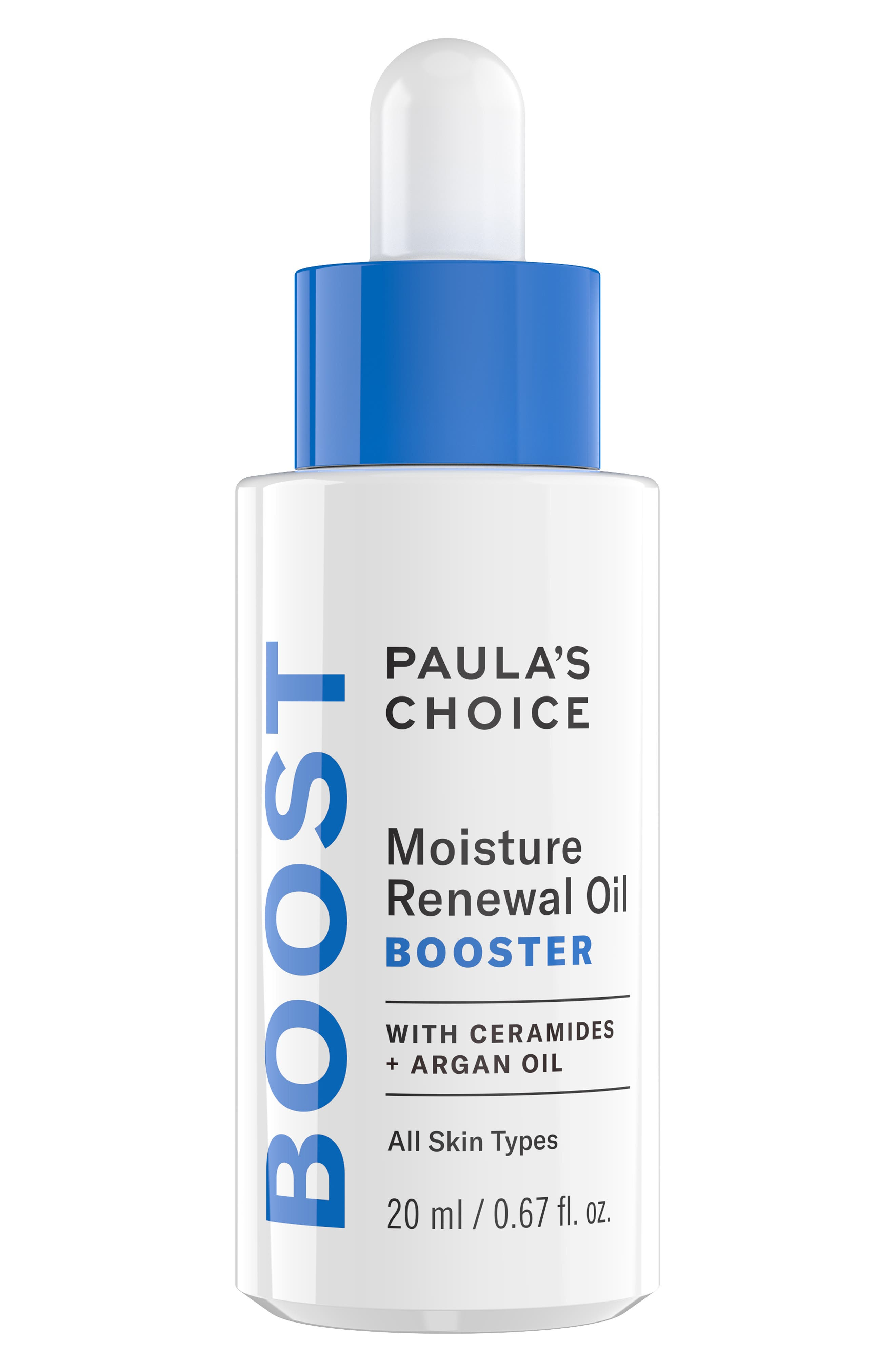 PAULA'S CHOICE,                             Resist Moisture Renewal Oil Booster,                             Main thumbnail 1, color,                             NO COLOR