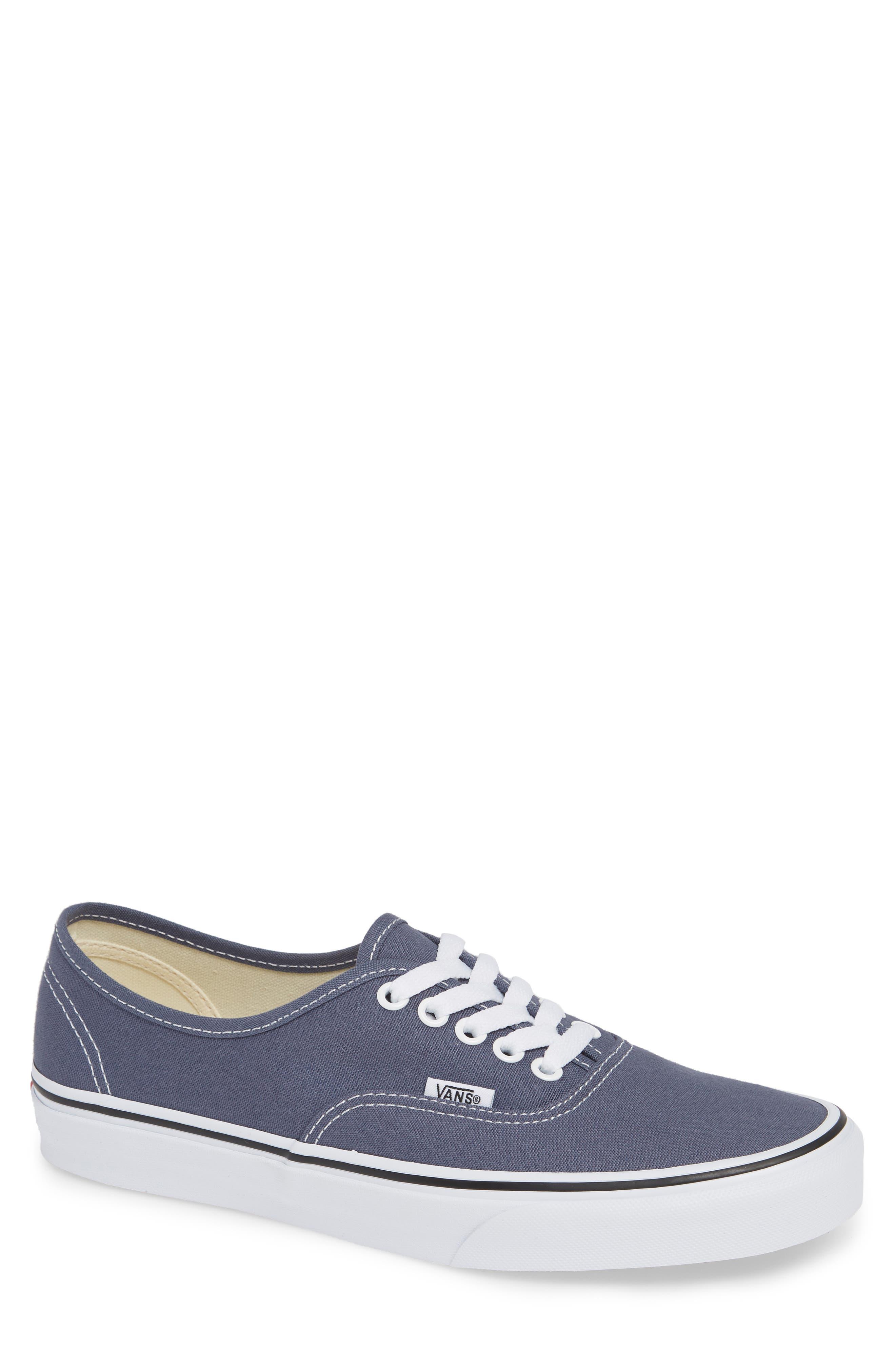 'Authentic' Sneaker,                             Main thumbnail 1, color,                             GREY/ TRUE WHITE