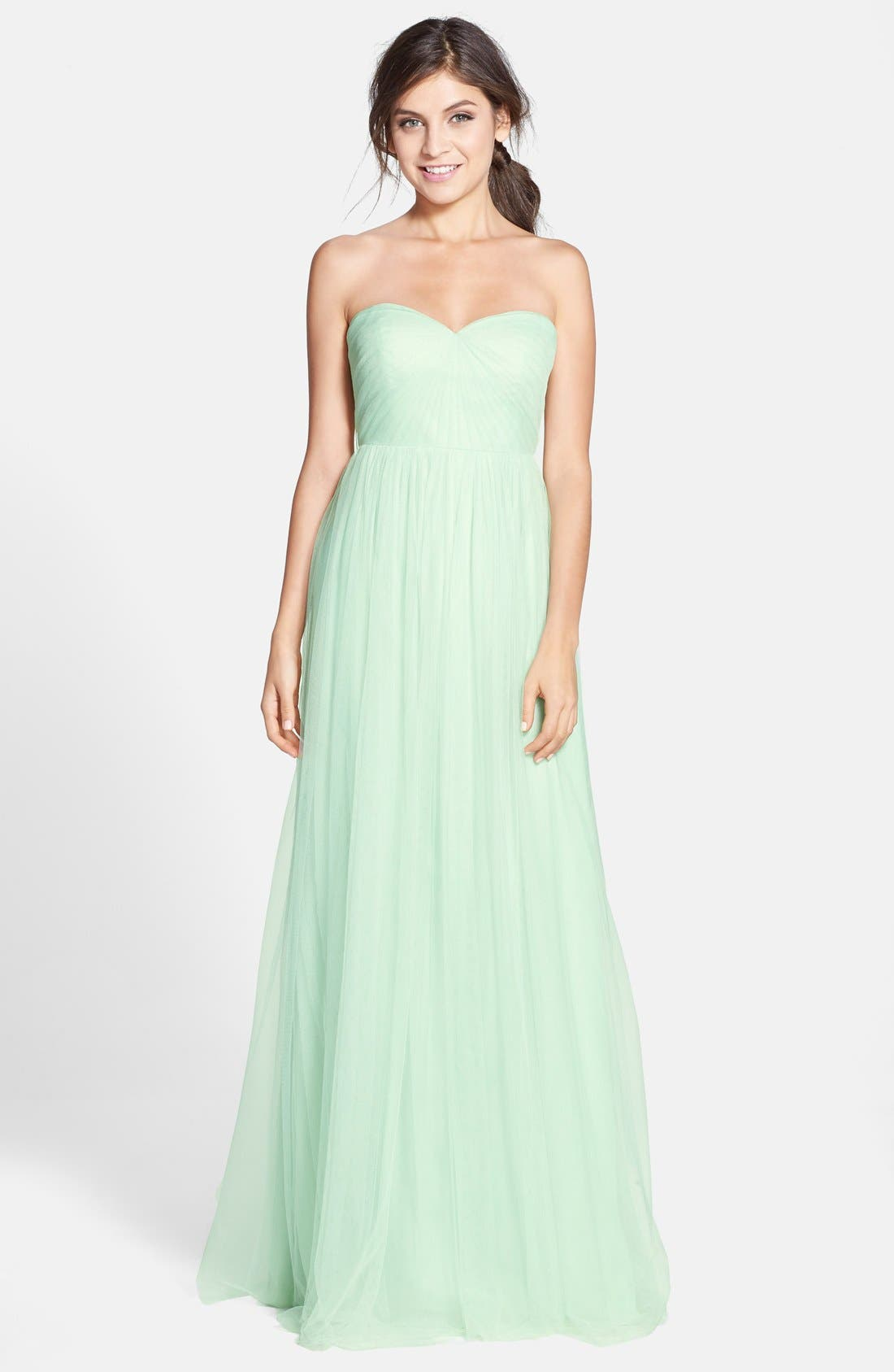 Annabelle Convertible Tulle Column Dress,                             Main thumbnail 24, color,