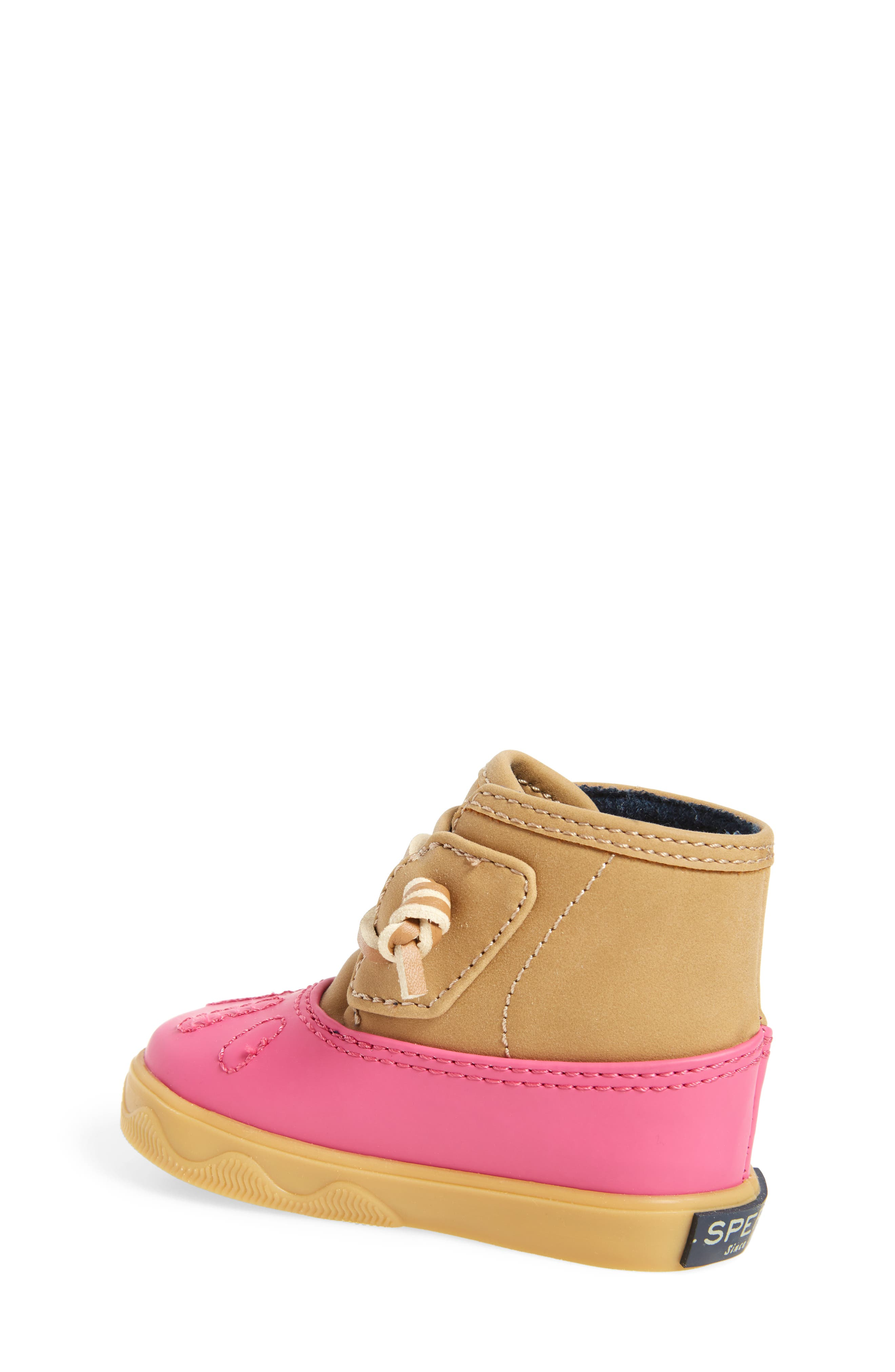 Sperry Icestorm Crib Duck Bootie,                             Alternate thumbnail 2, color,                             650