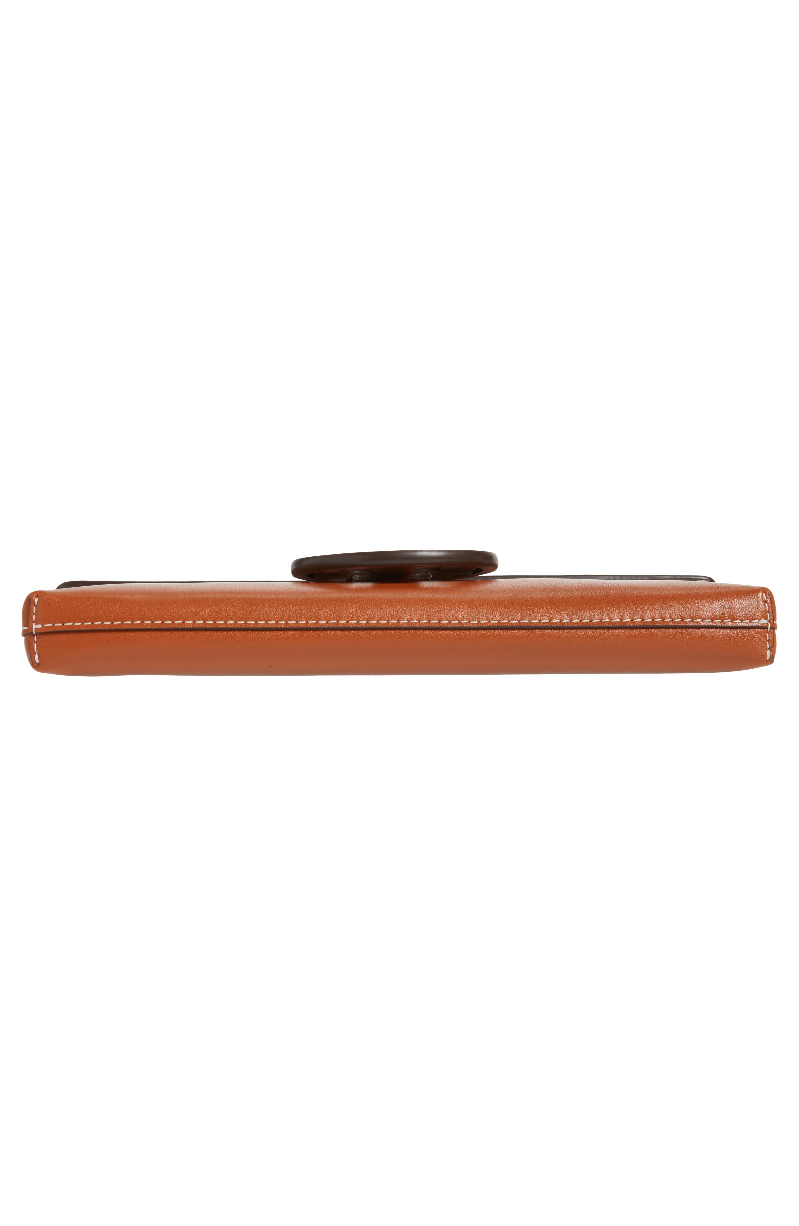 Miller Leather Clutch,                             Alternate thumbnail 17, color,