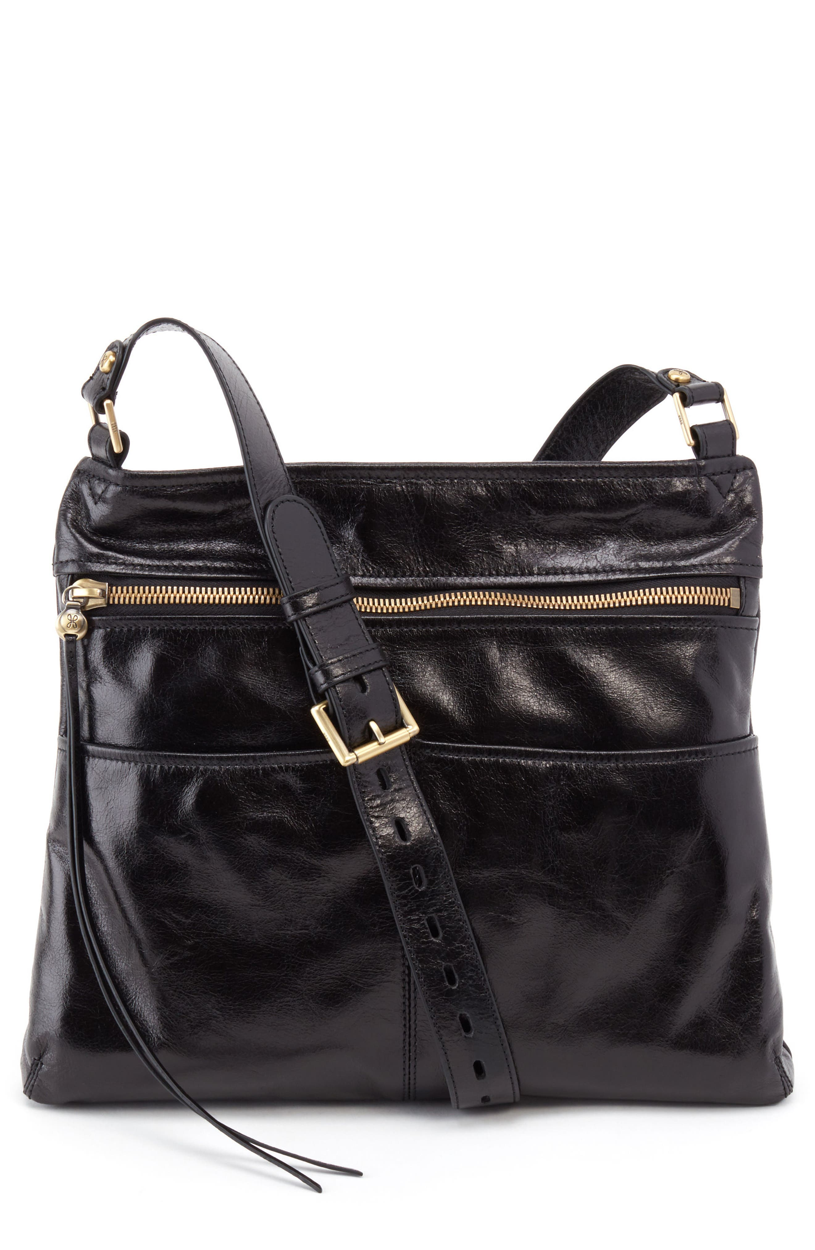 Angler Crossbody Bag,                         Main,                         color, BLACK