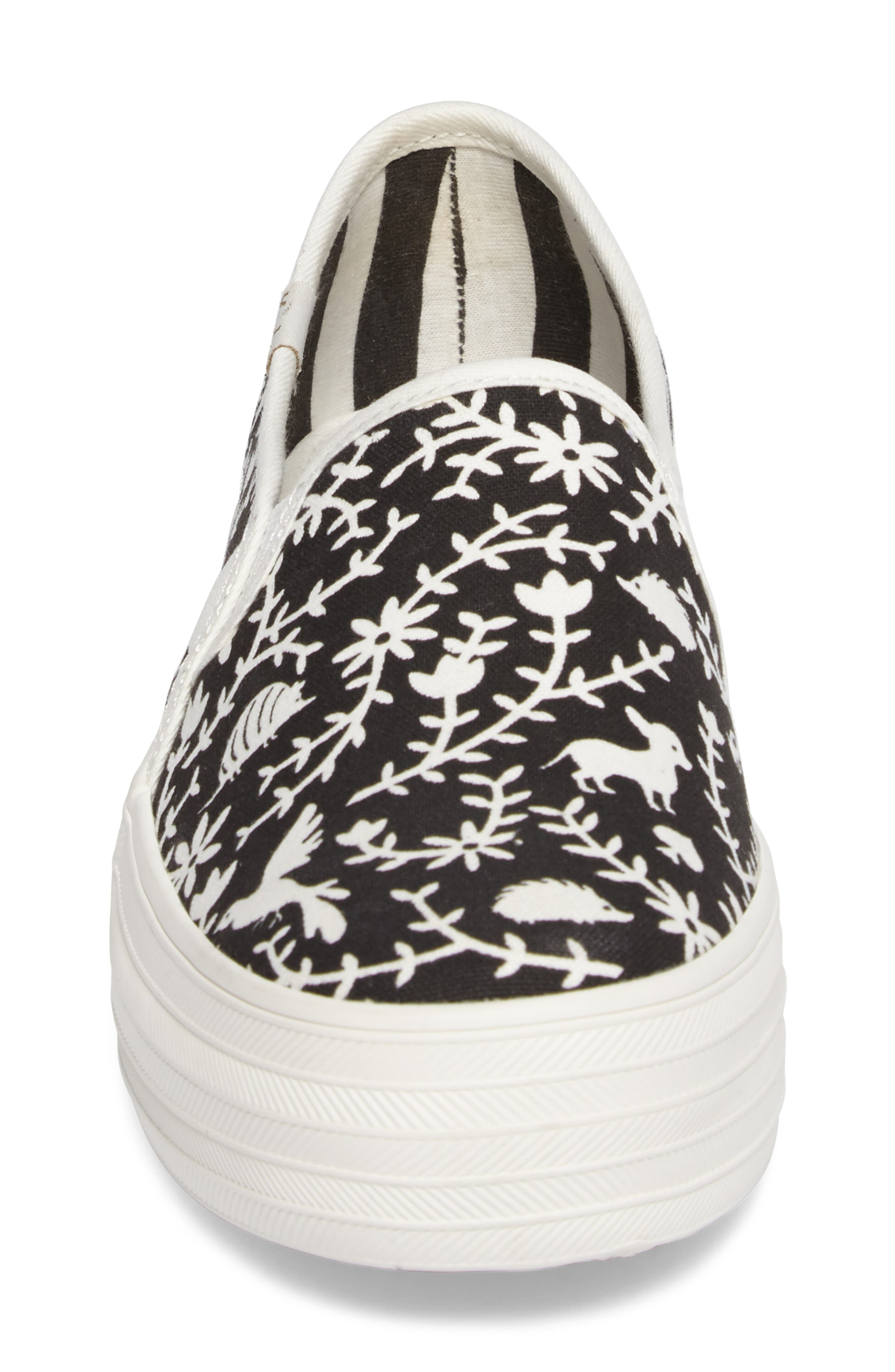 Keds<sup>®</sup> x kate spade Triple Decker Slip-On Sneaker,                             Alternate thumbnail 7, color,