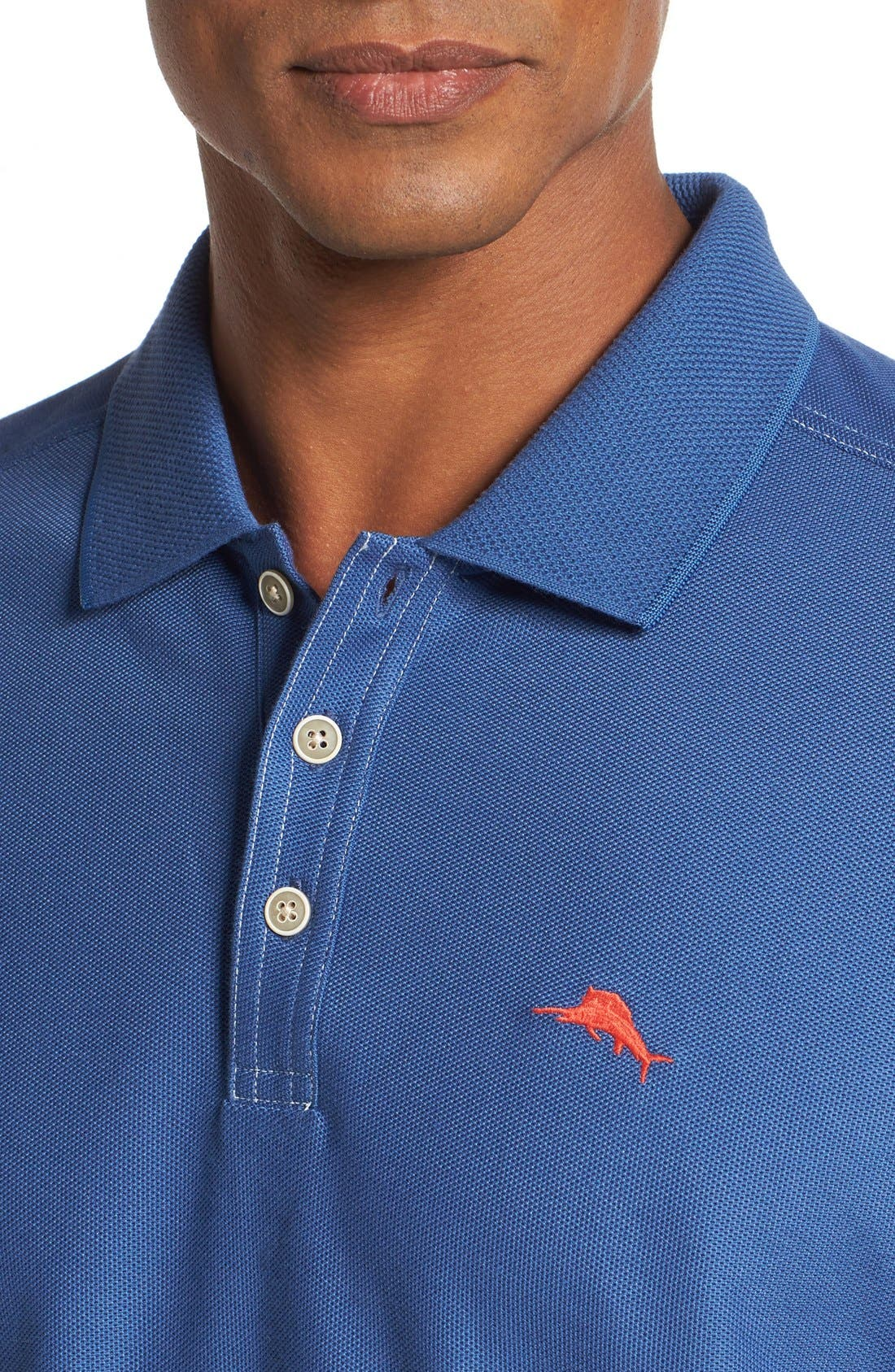 'The Emfielder' Original Fit Piqué Polo,                             Alternate thumbnail 240, color,