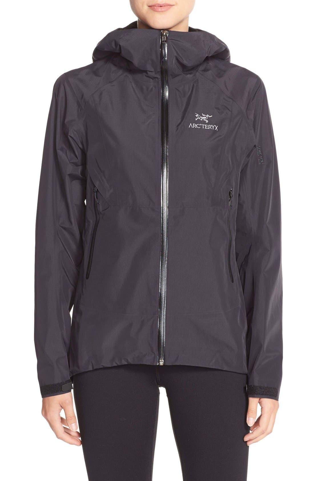 'Beta SL' Waterproof Jacket,                             Main thumbnail 1, color,                             001