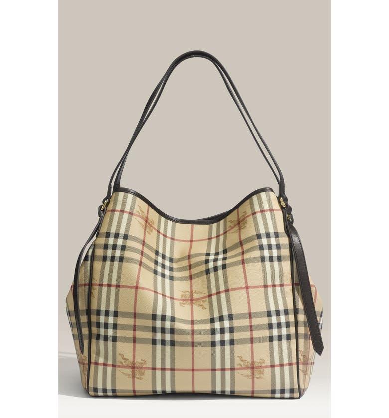 6797a406c935 Burberry  Medium Haymarket Check  Shoulder Bag