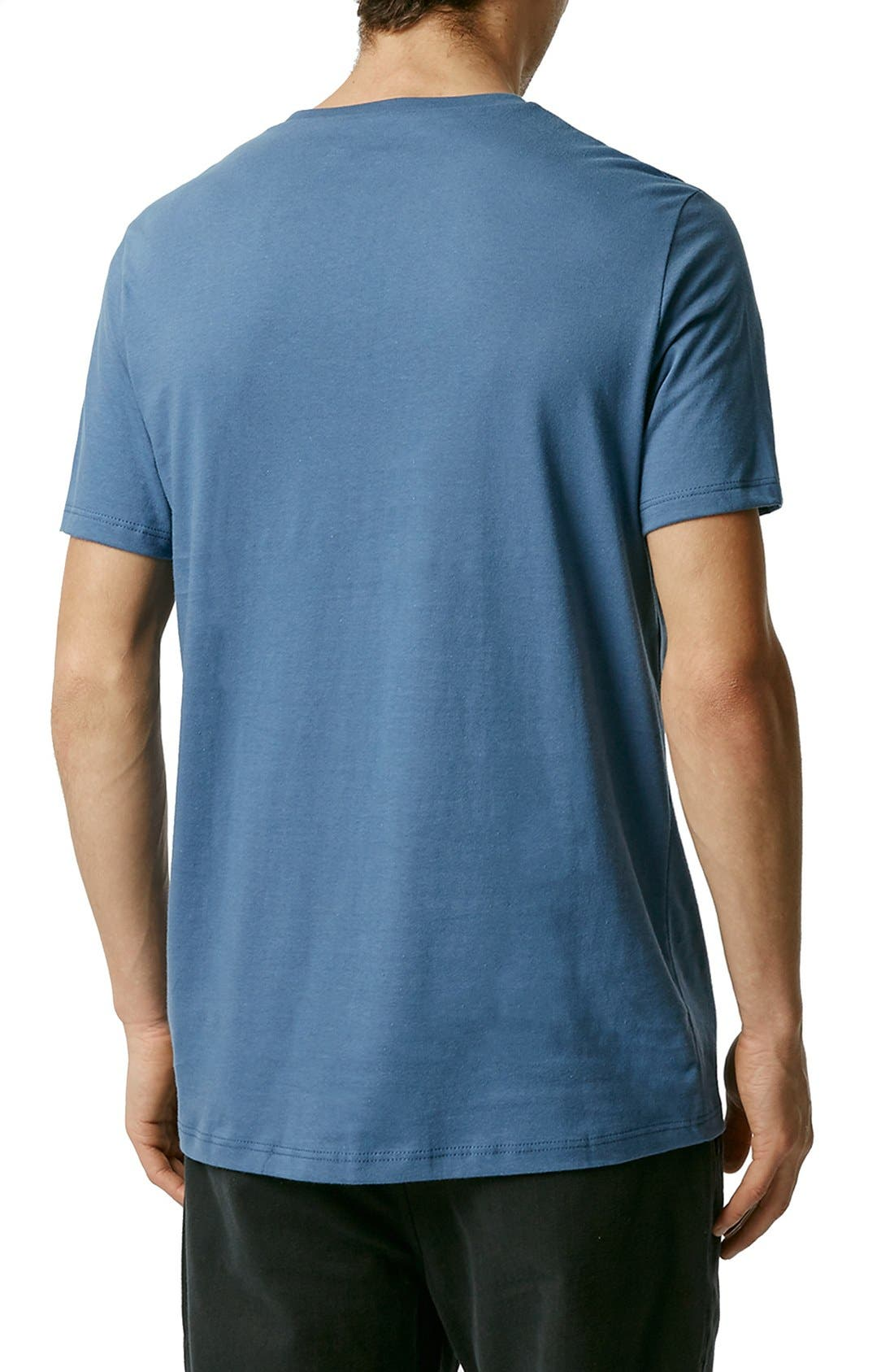 Slim Fit Crewneck T-Shirt,                             Alternate thumbnail 346, color,