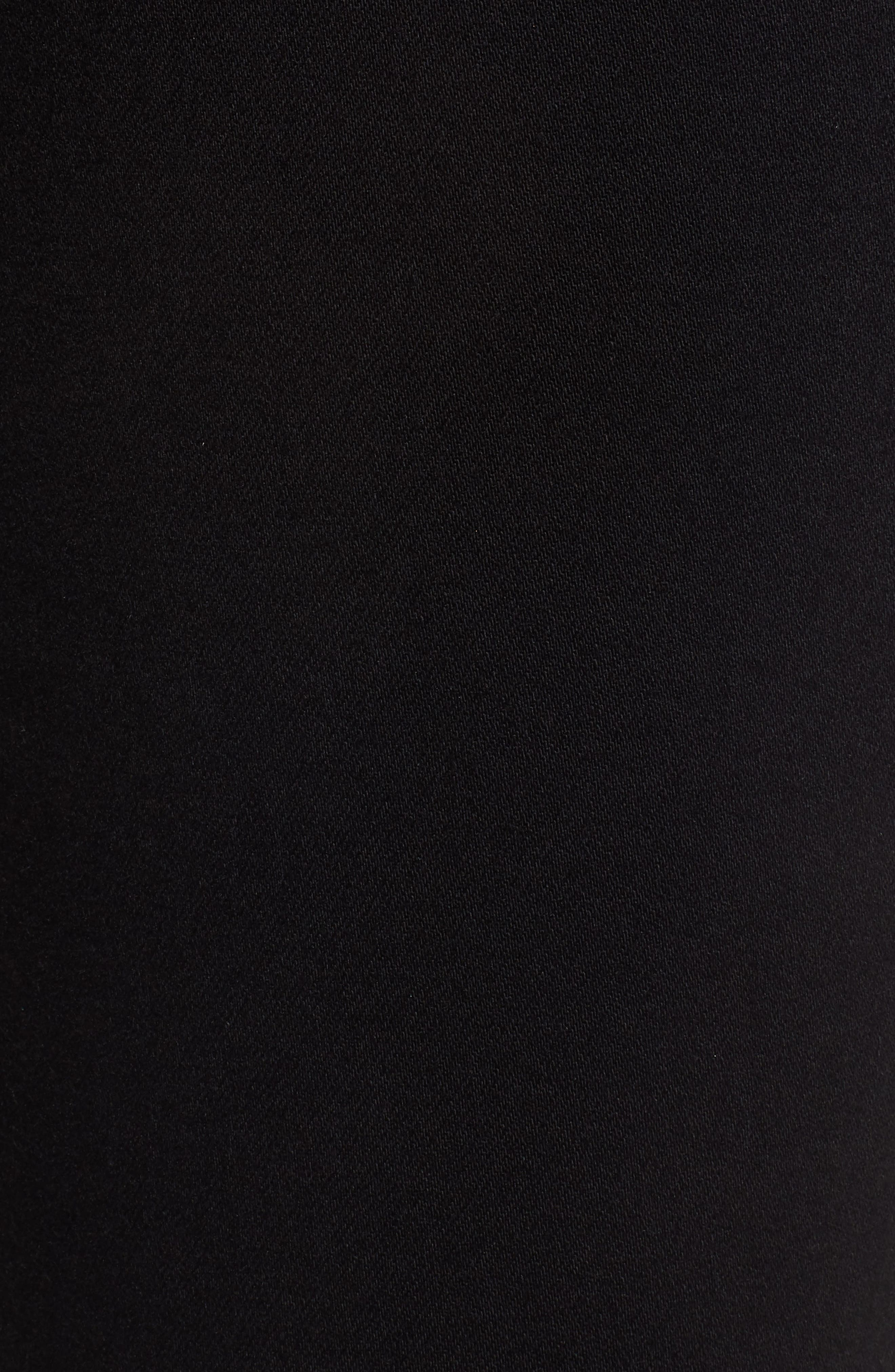 'Transcend - Verdugo Ultra Skinny Maternity Jeans,                             Alternate thumbnail 5, color,                             BLACK SHADOW