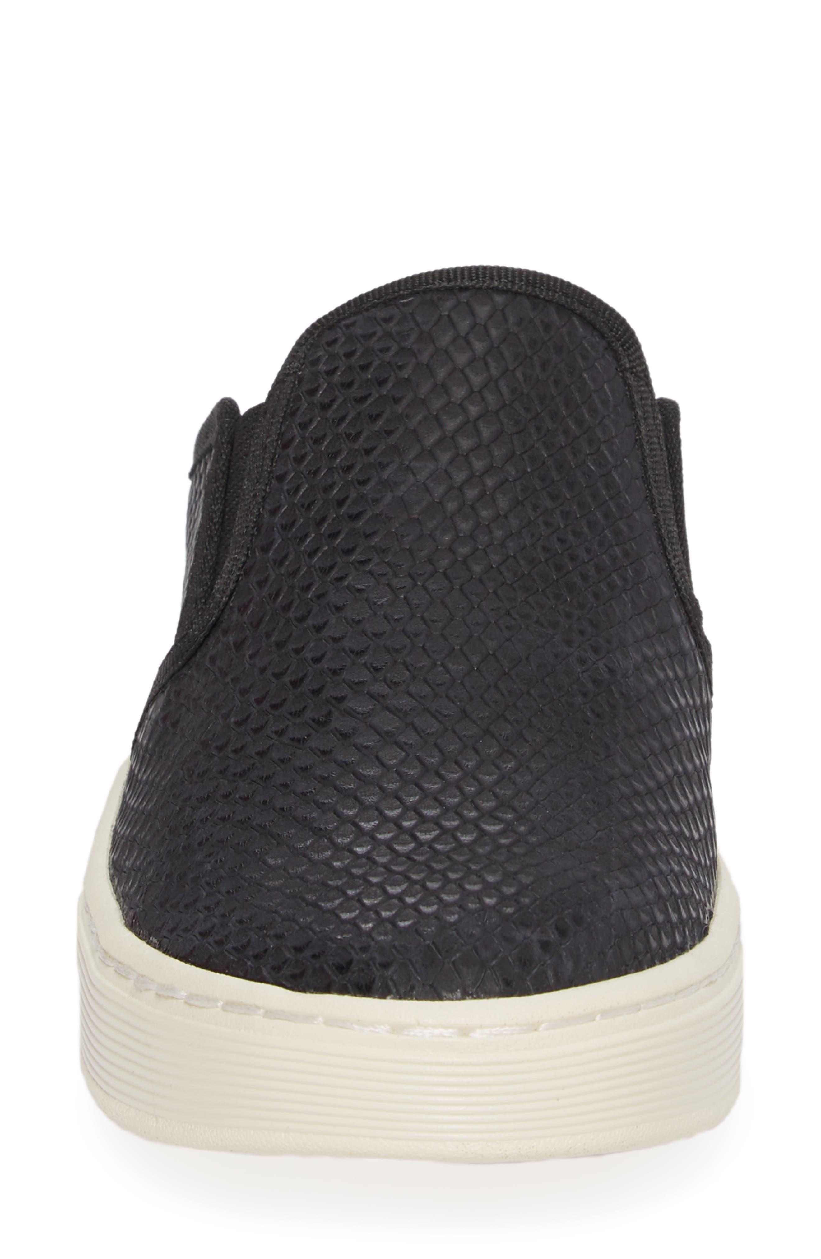 Somers Slip-On Sneaker,                             Alternate thumbnail 4, color,                             001