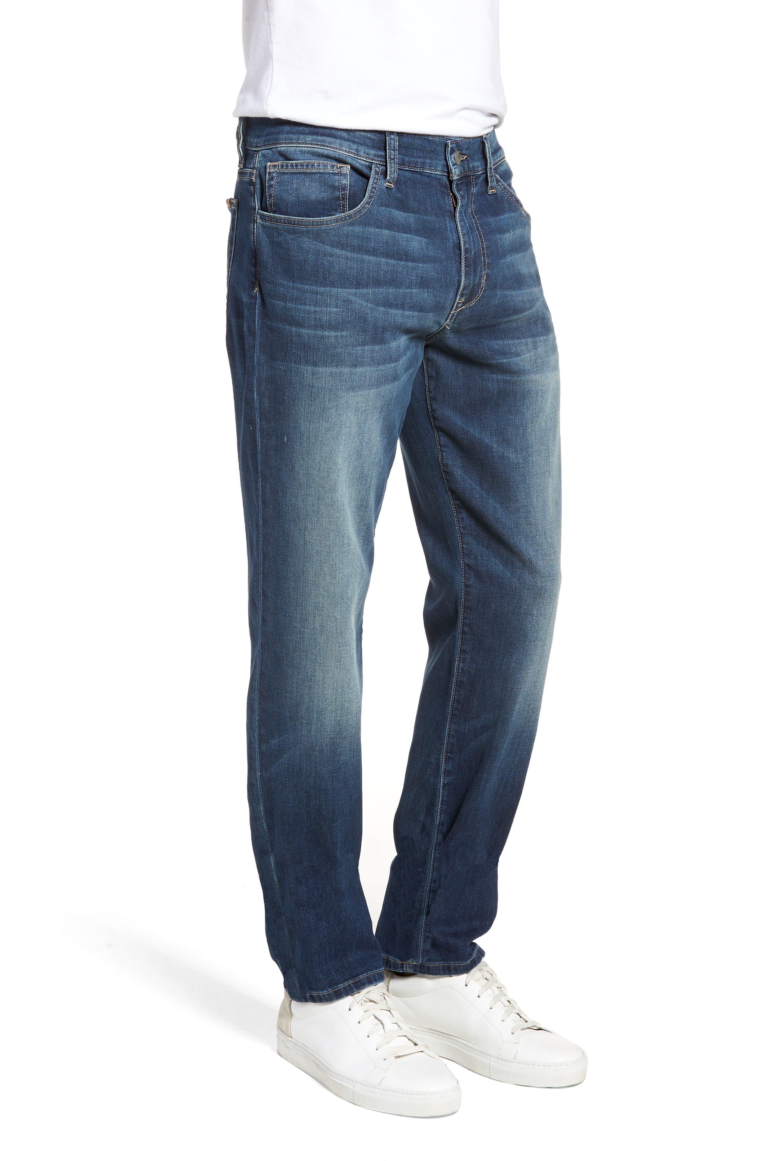 Brixton Slim Straight Fit Jeans,                             Alternate thumbnail 3, color,                             400