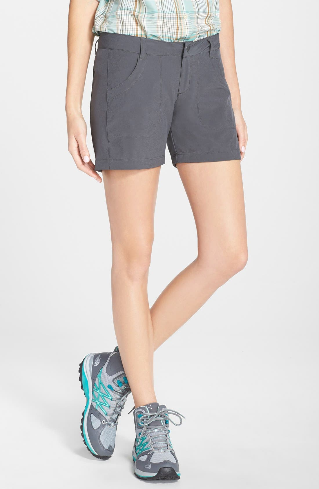 PATAGONIA 'Happy Hike' Shorts, Main, color, 020